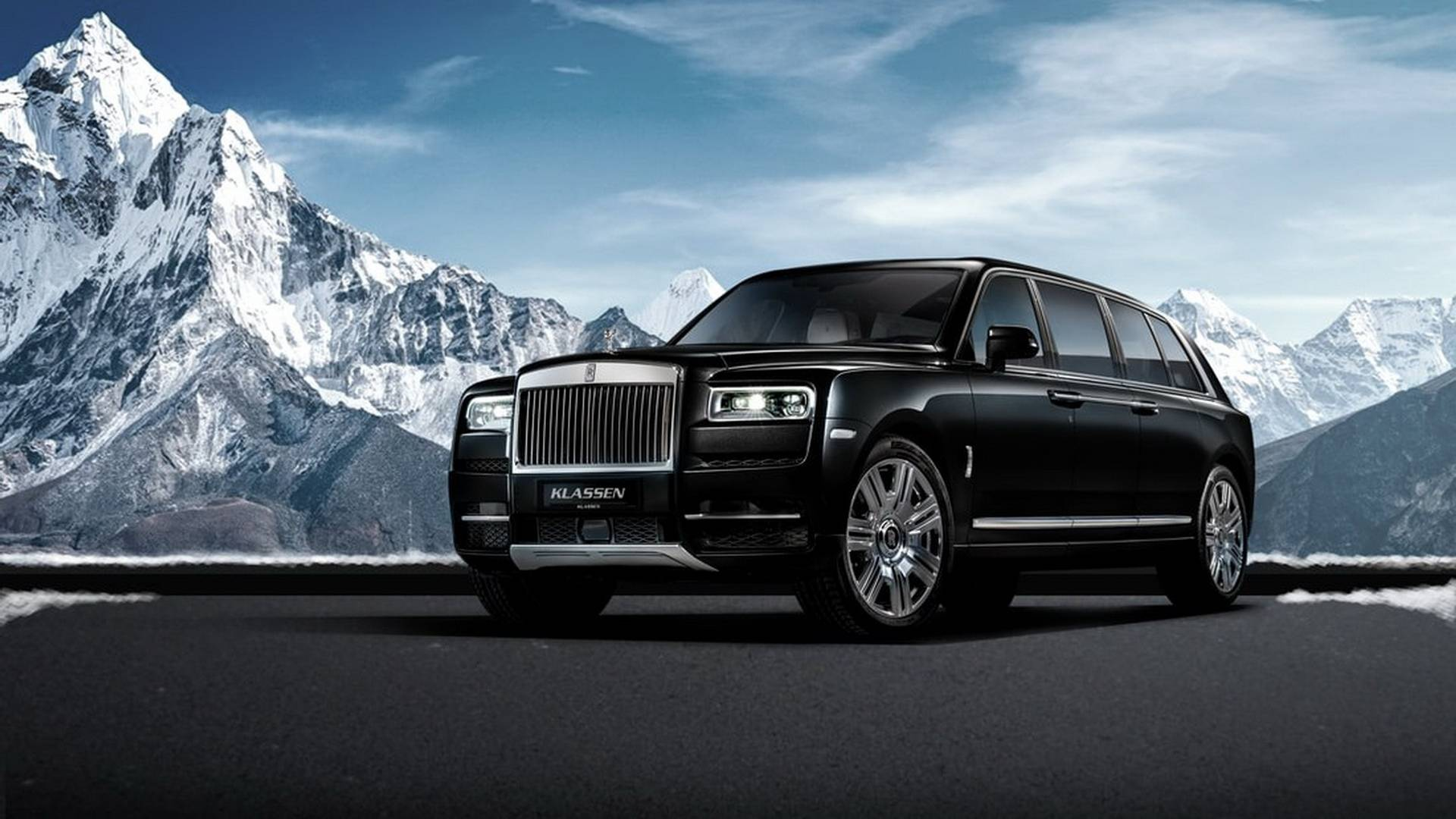 get ready for the bulletproof $2m rolls-royce cullinan limo