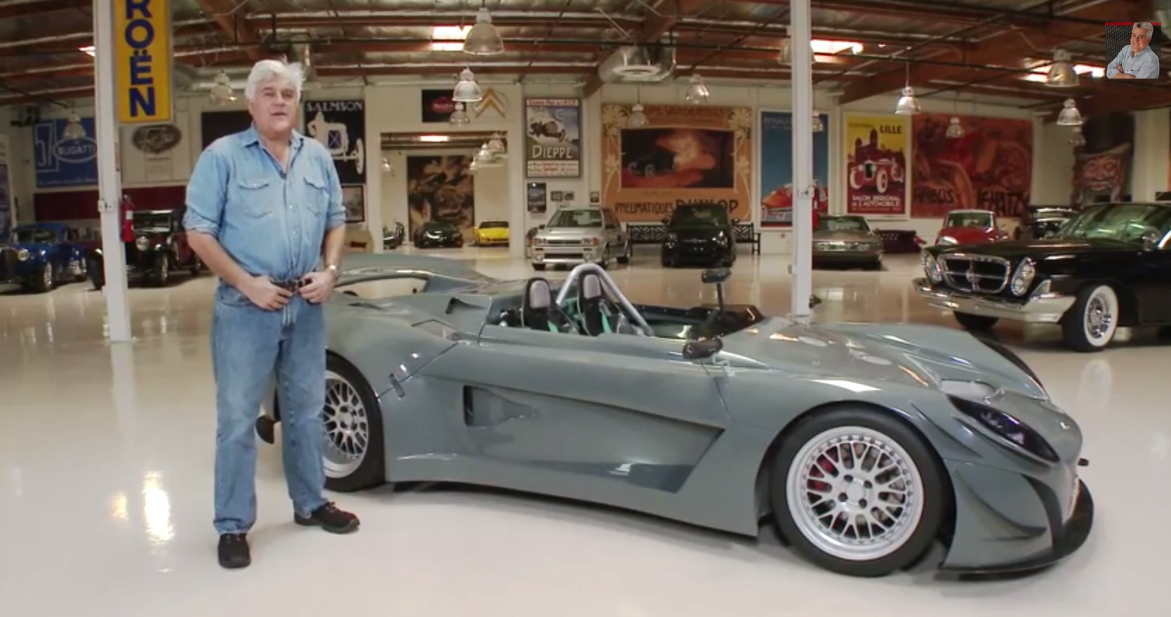 Ronin Rs 211 Lands In Jay Leno S Garage The Ultimate Lotus