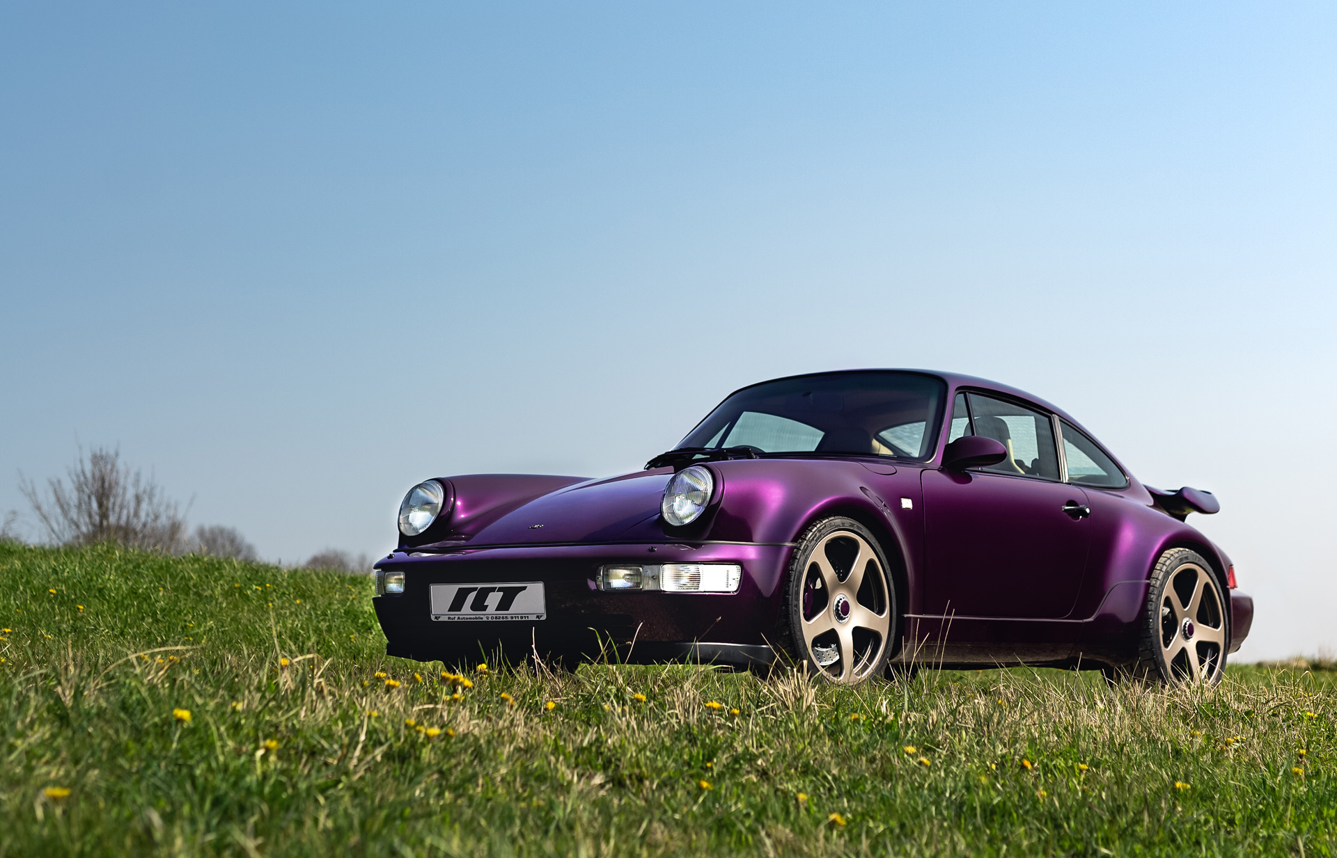 The Ruf RCT of the 1990s is back as a modern restomod