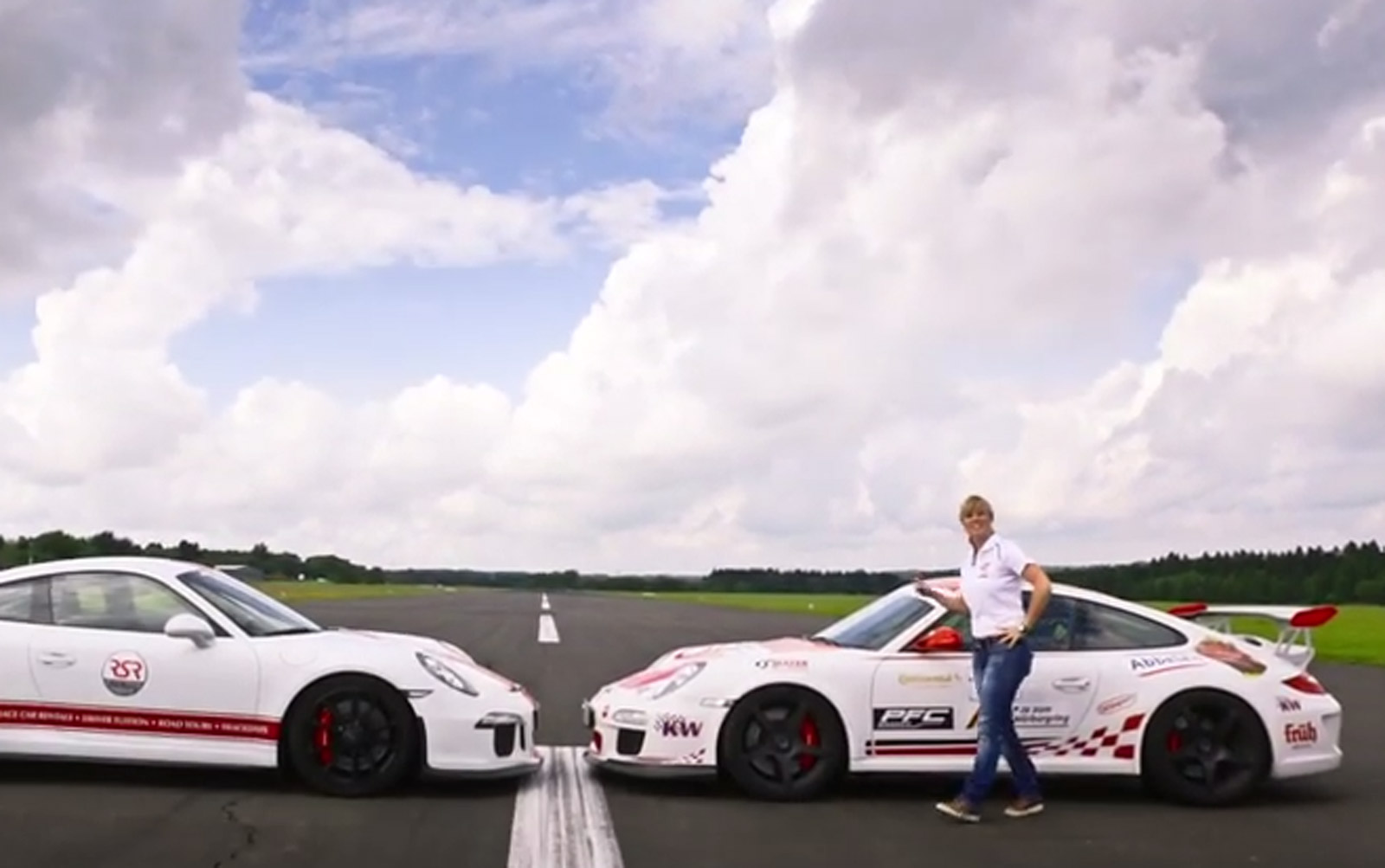Sabine Schmitz Compares Two Generations Of Porsche 911 GT3: Video