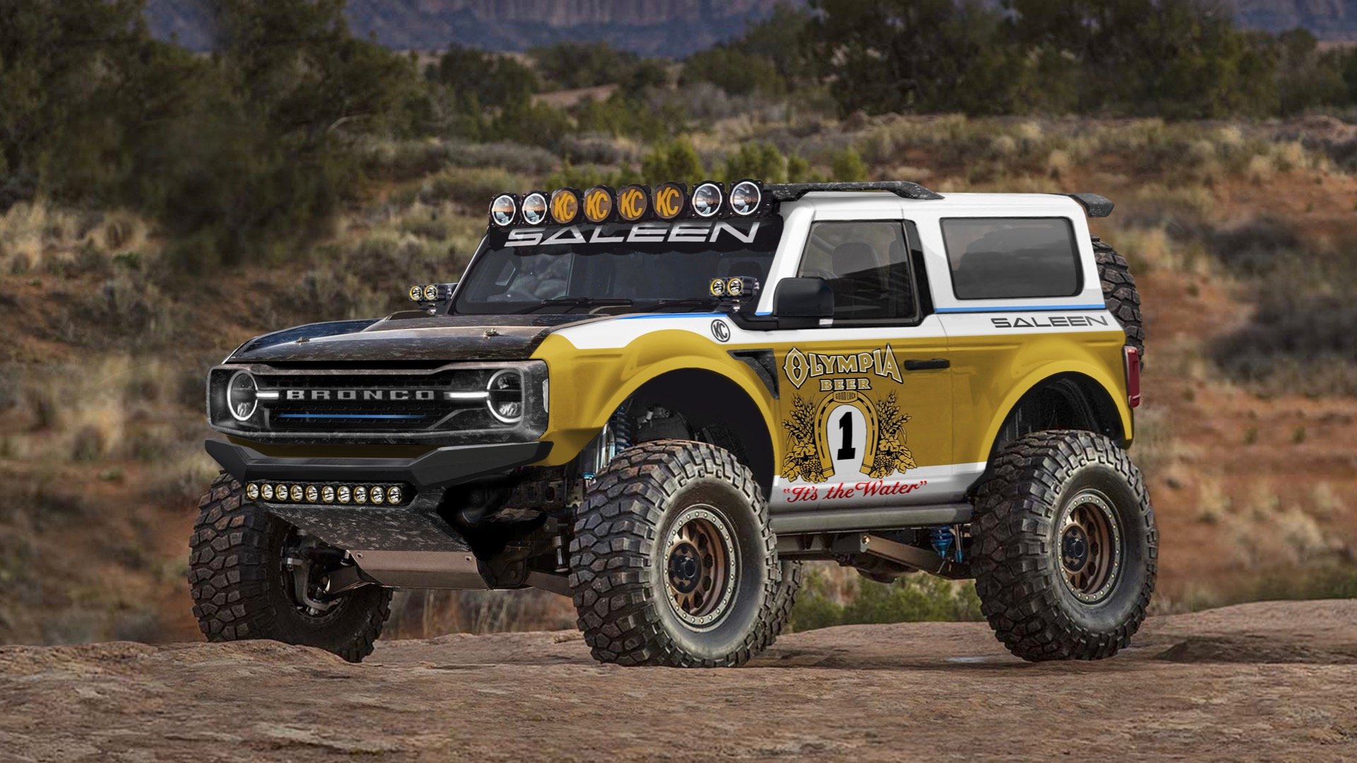 Saleen wants to turn the 2021 Ford Bronco into a desert racer