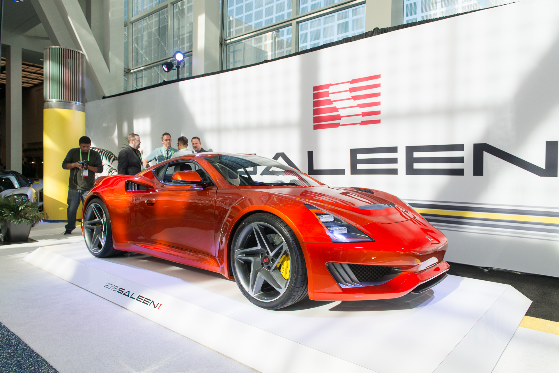Saleen Reveals S1 Sports Car Plans Chinese Production