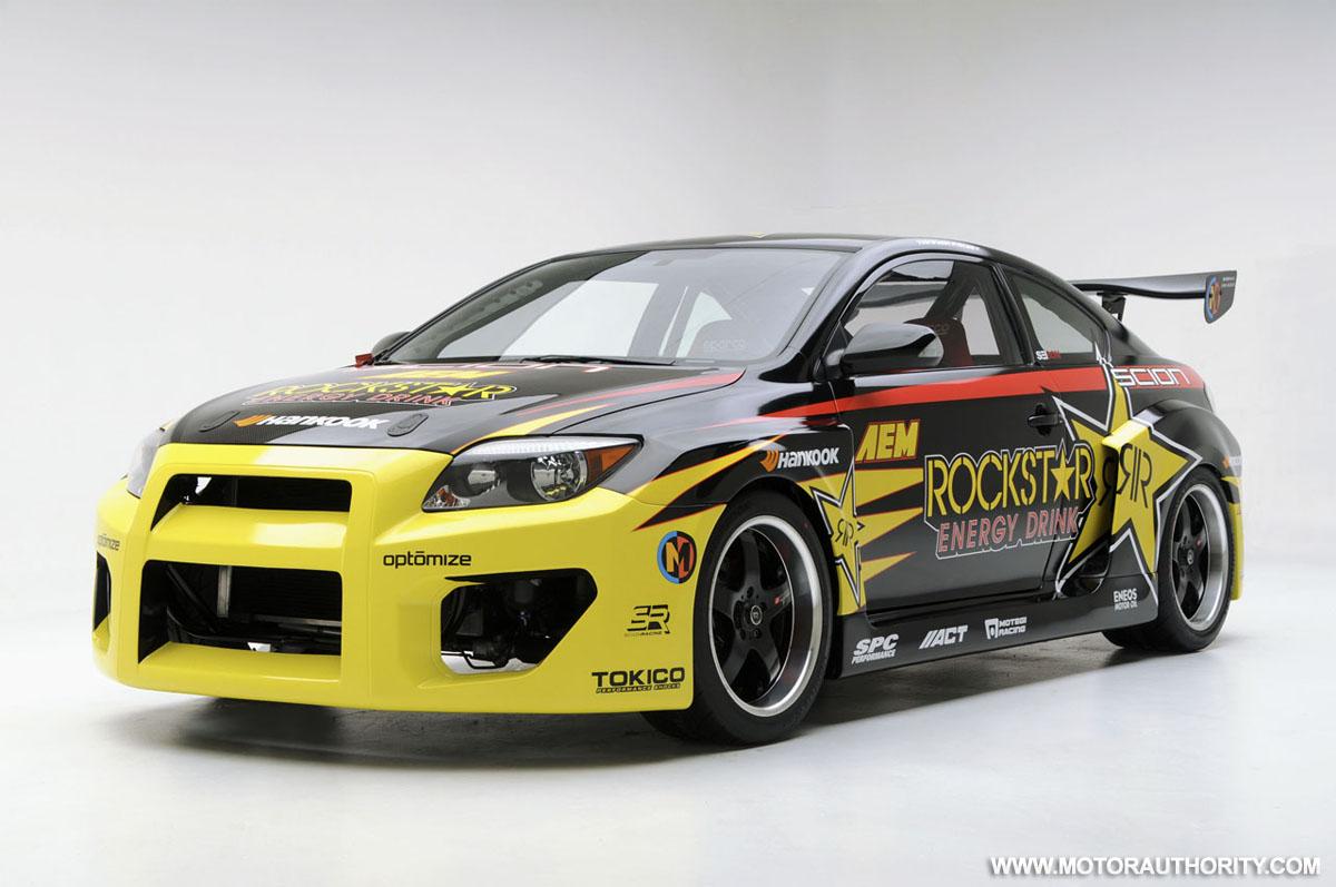 Tanner Foust S Powered Formula Drift Scion Tc
