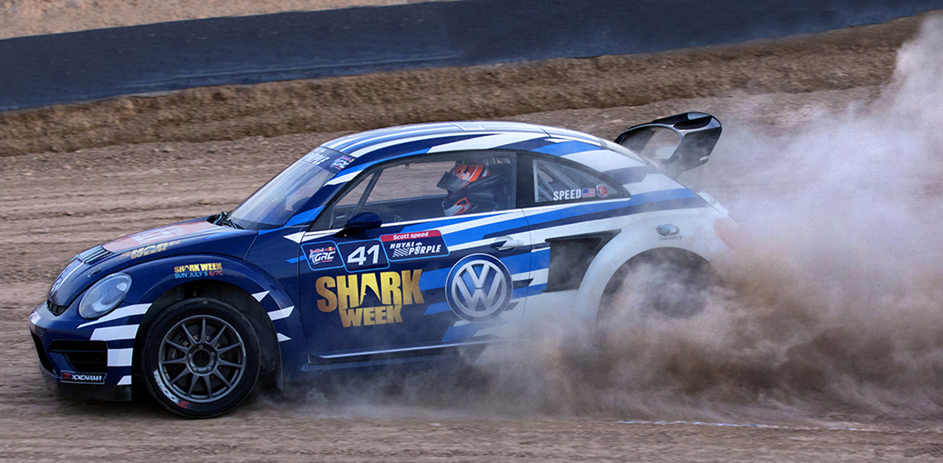 Scott Speed Gears Up For New Season Of Grc With Shark Week