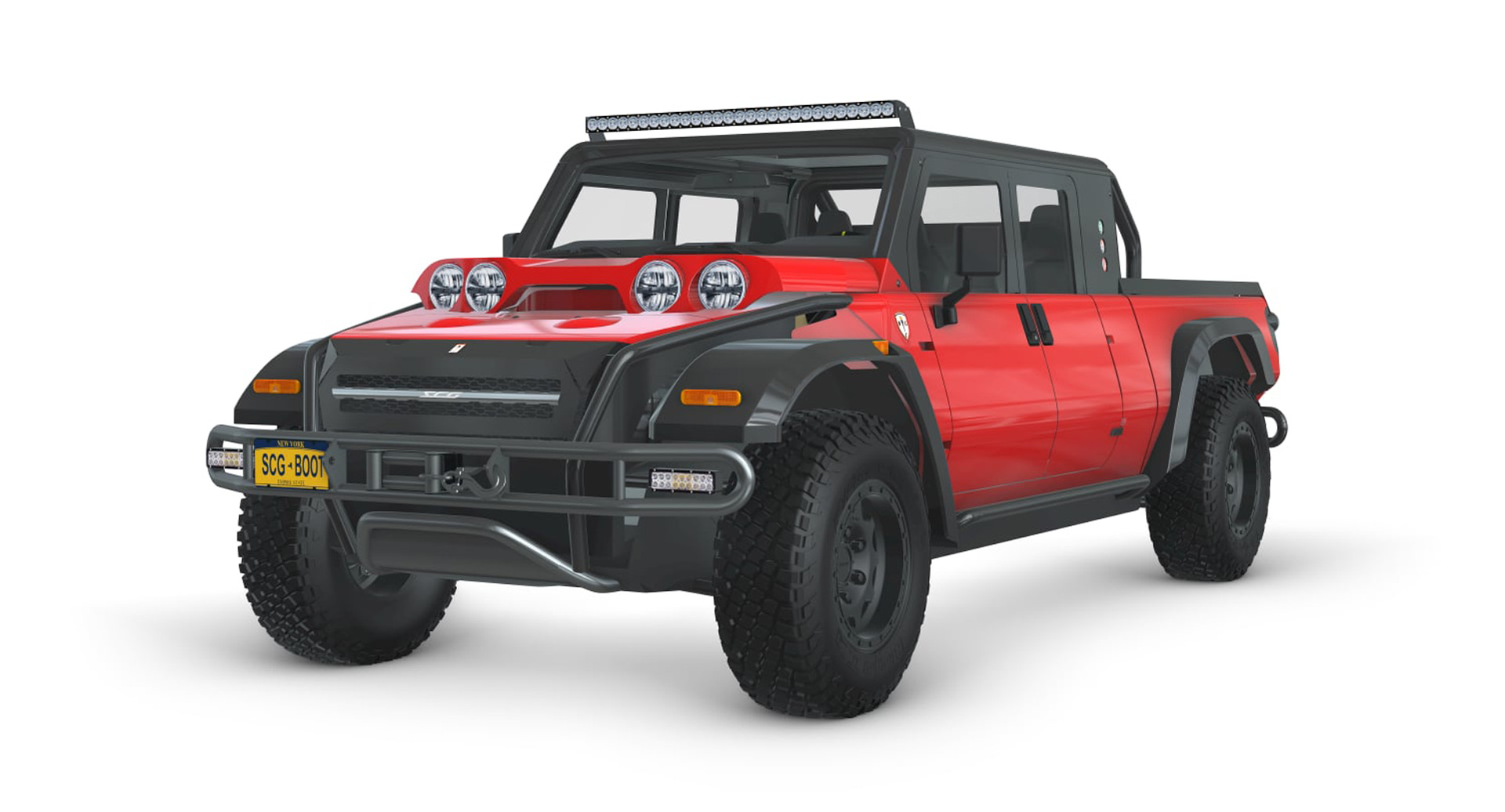 SCG 010 Zero: Baja-ready hydrogen-fueled pickup could become reality