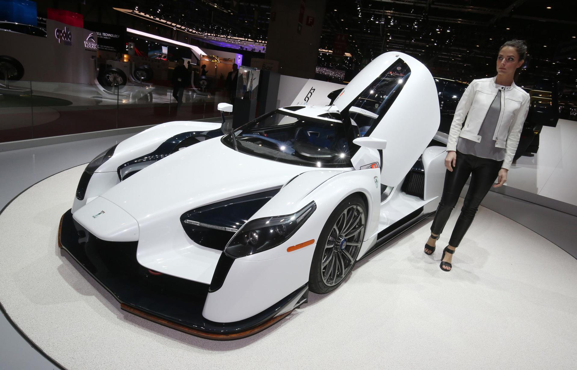 Glickenhaus Street Legal Scg003 Debuts At Geneva Auto Show