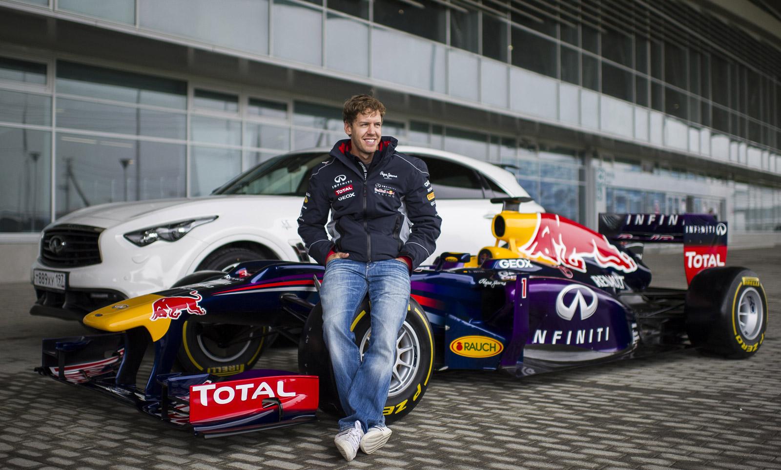 Sebastian Vettel Samples Russia's Sochi Olympic Park F1 ...