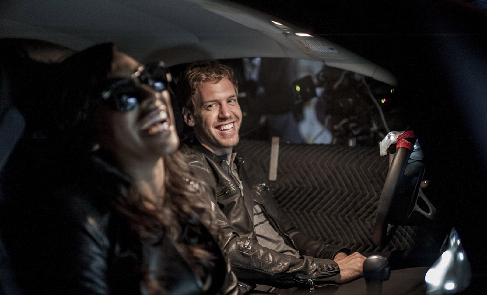BMW Pickup Truck >> Sebastian Vettel Stars In R&B Singer Melanie Fiona's New ...