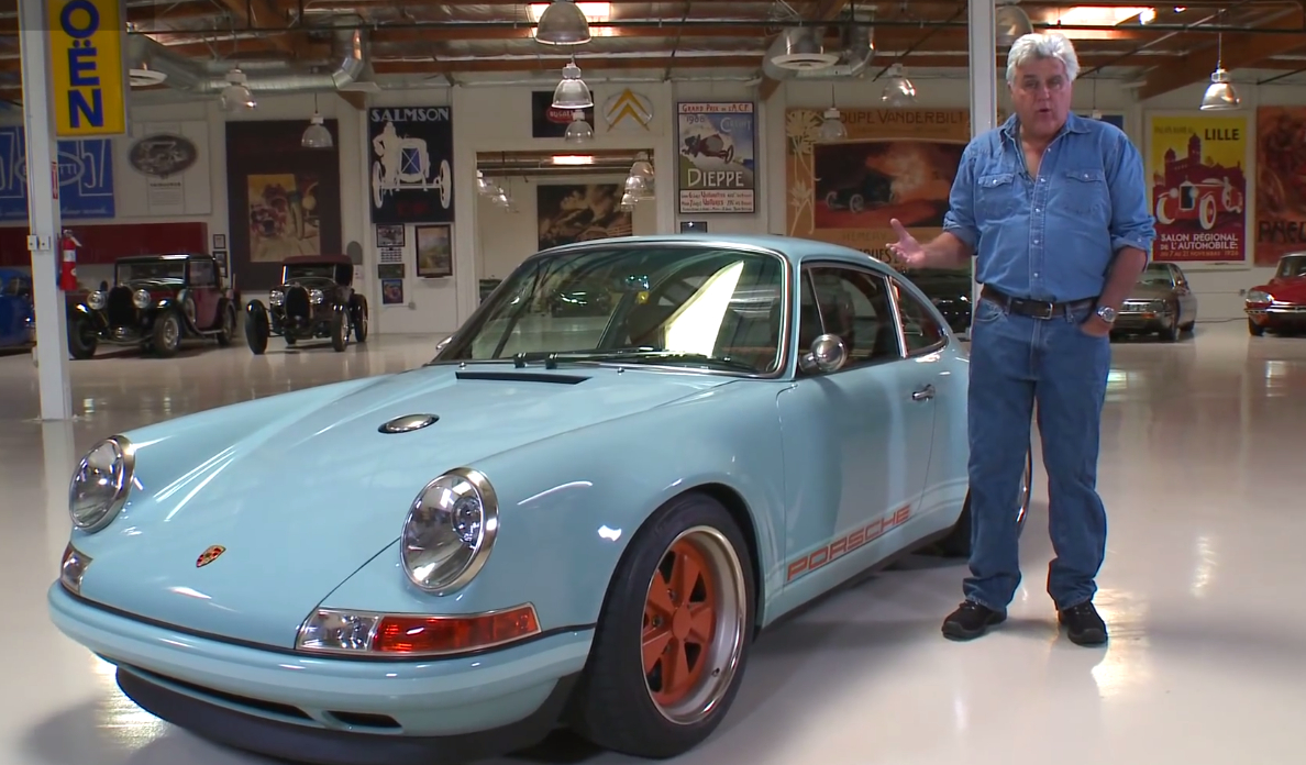 Singer Porsche 911 Roars Into Jay Leno S Garage Video