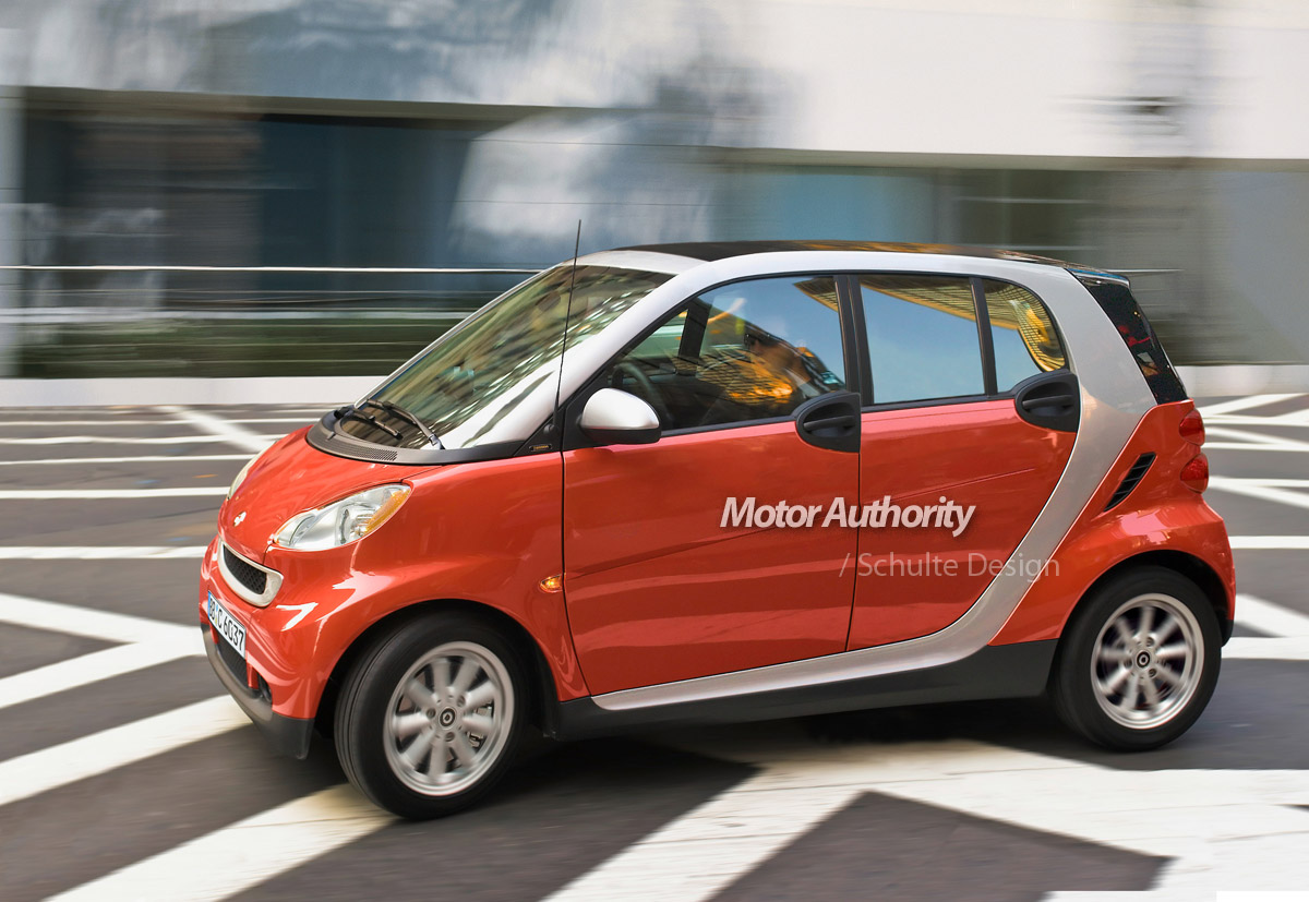 Report: Smart planning new \'ForTwo +2\' four-seat city car