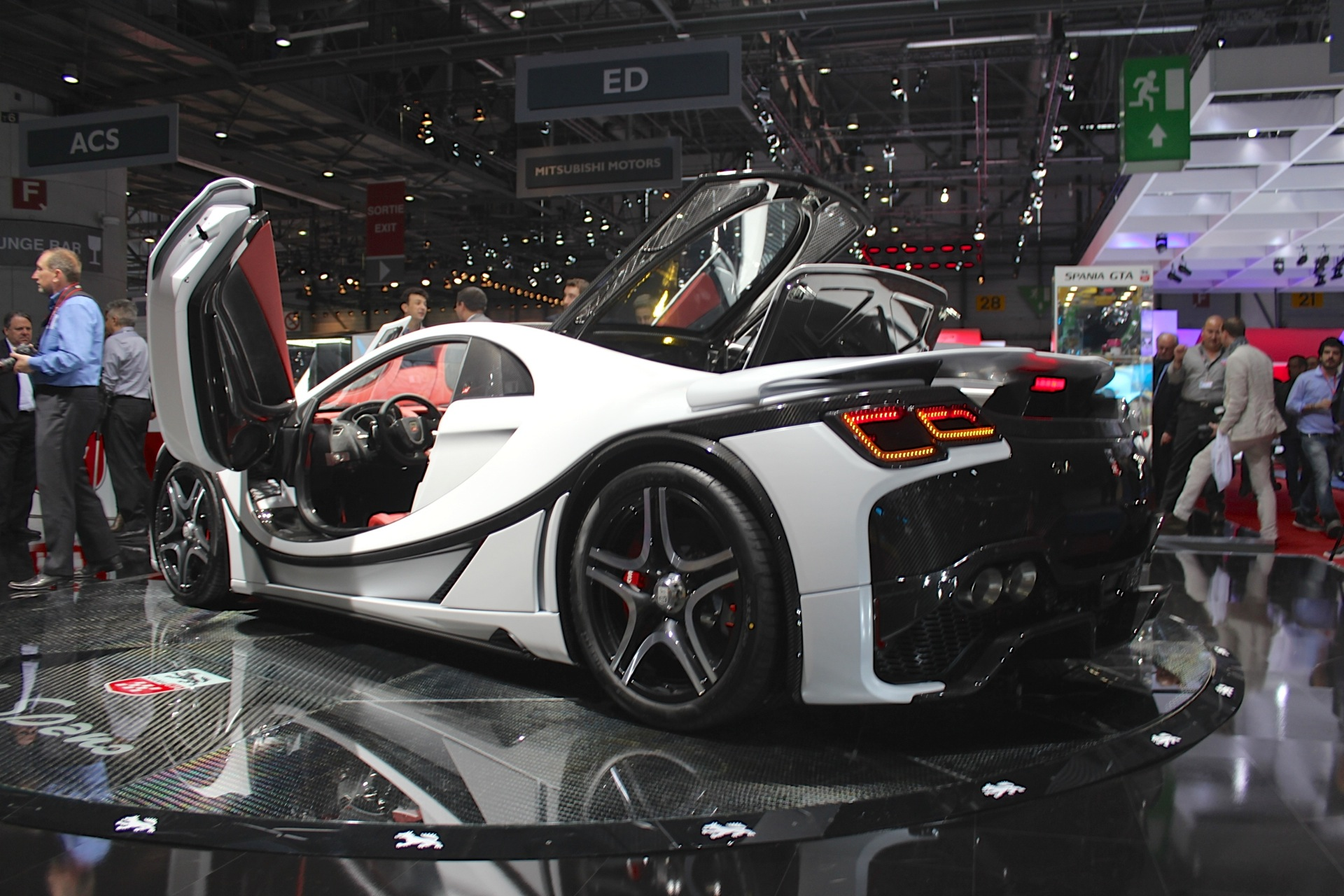 Spain's GTA reveals new version of Spano V-10 supercar at ...