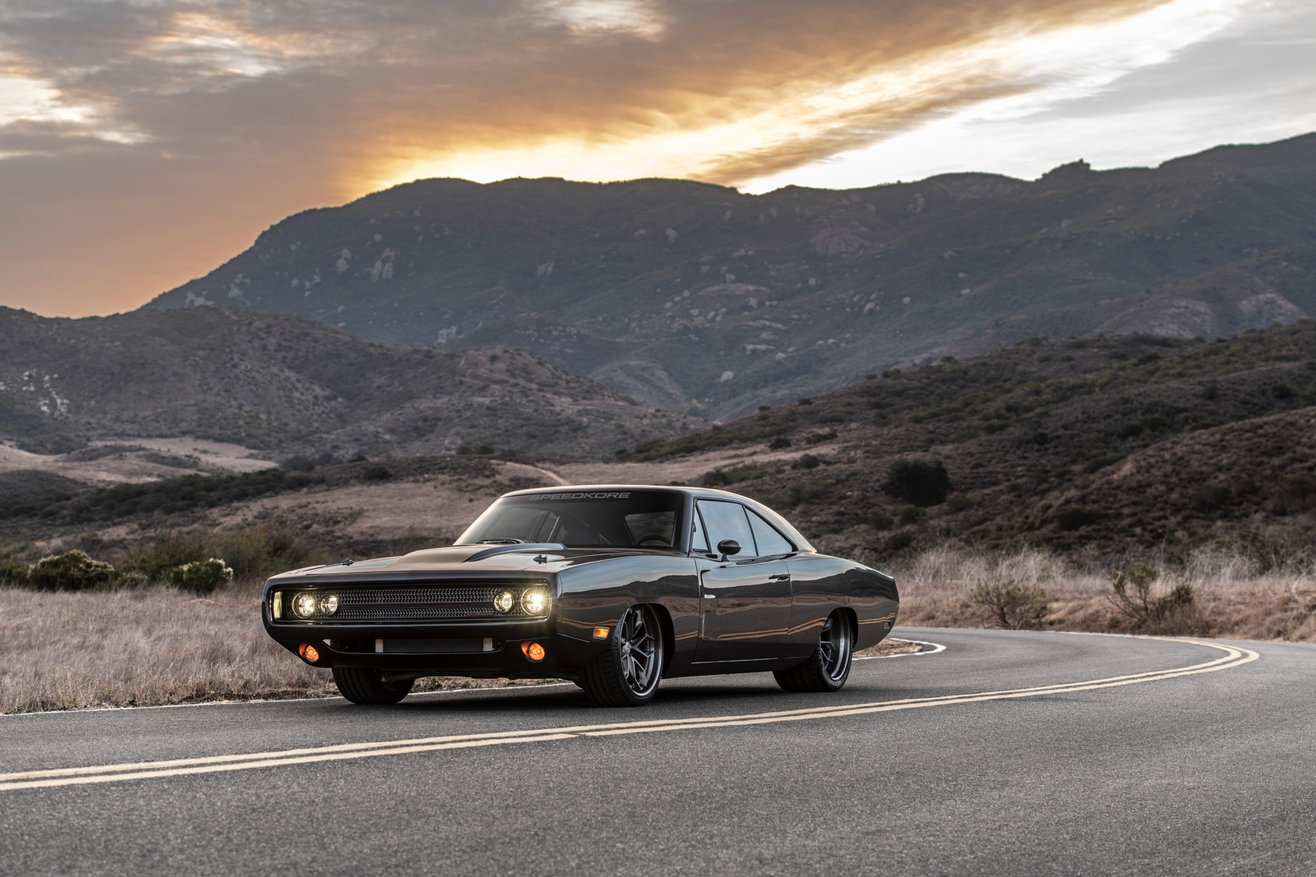 """1970 Dodge Charger called """"Hellraiser"""""""