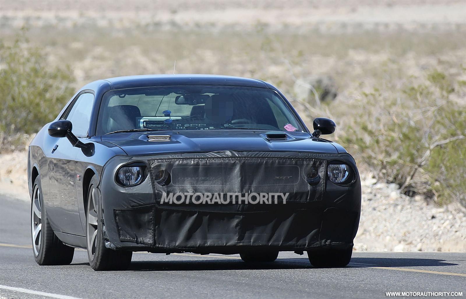 2015 Dodge Challenger Srt Hellcat Spy Shots