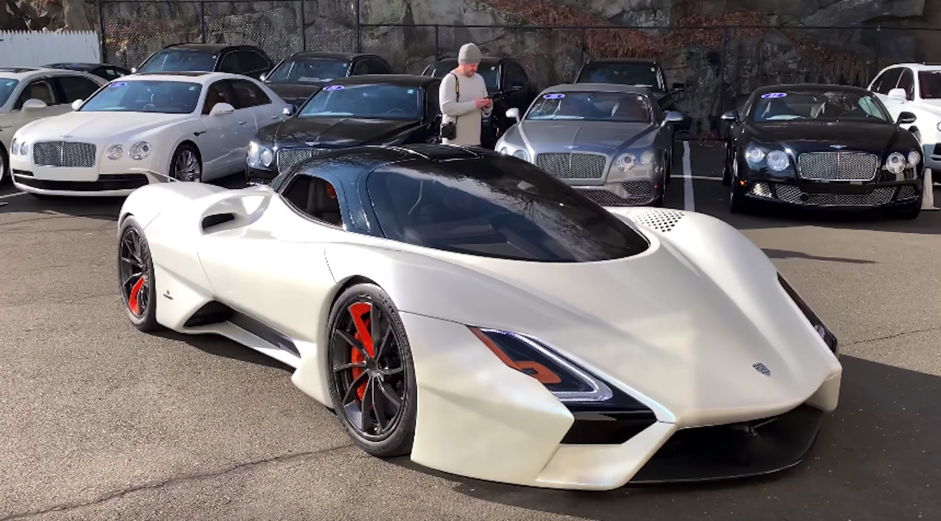 Hennessey Venom F5 >> SSC Tuatara prototype makes public appearance at dealership in Connecticut
