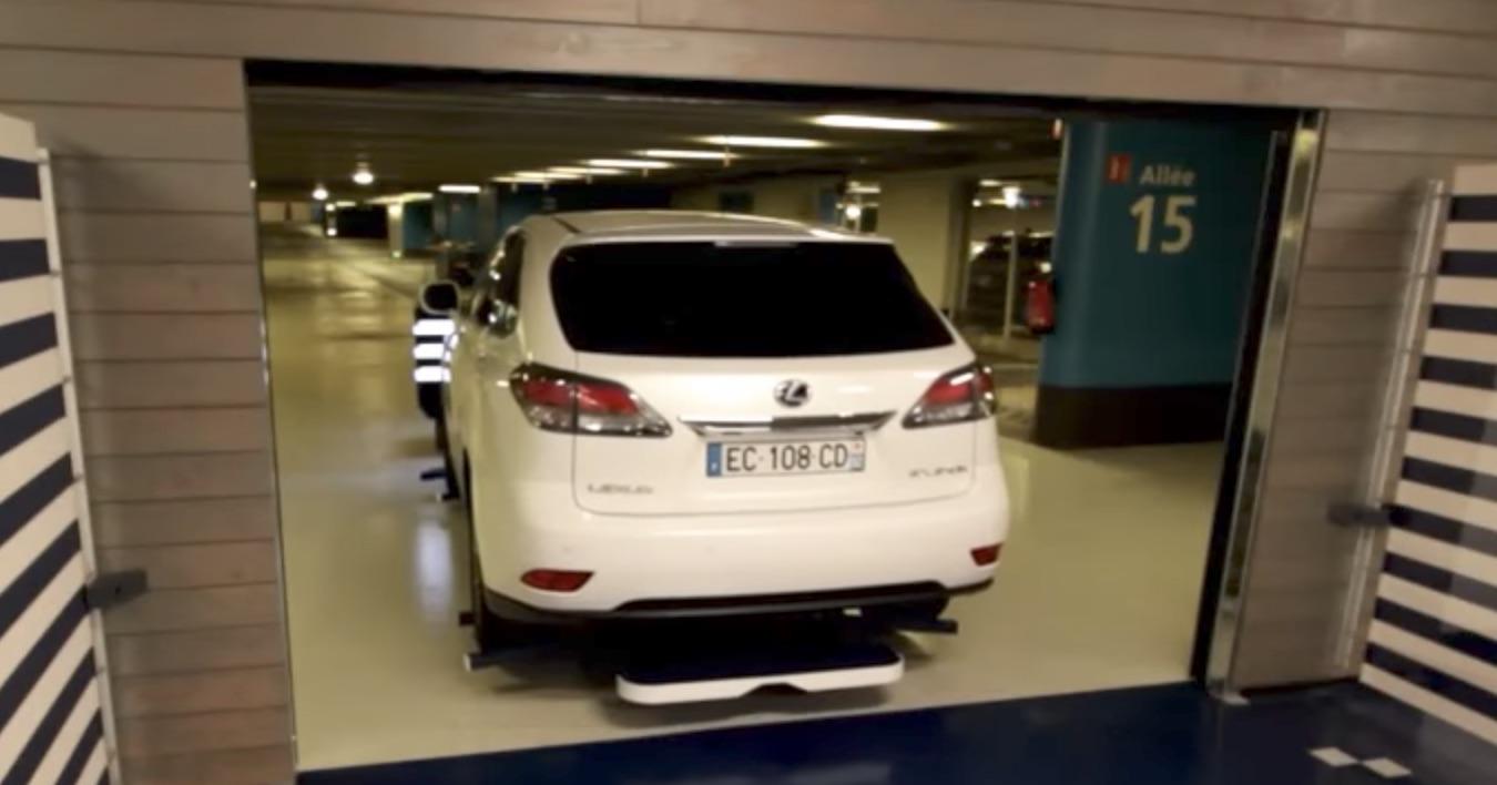 watch a robot valet park a car. Black Bedroom Furniture Sets. Home Design Ideas
