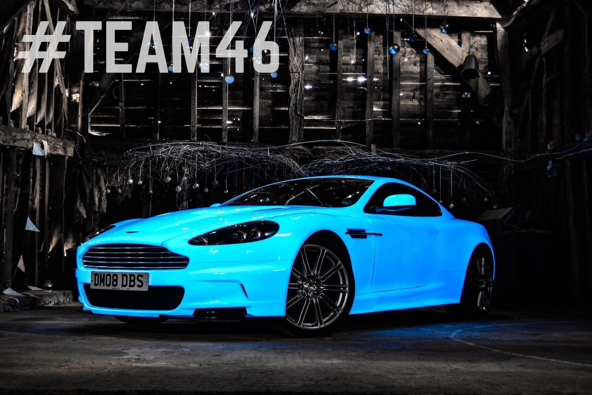 Gumball 3000 Aston Martin Sports New Glow In The Dark Paint
