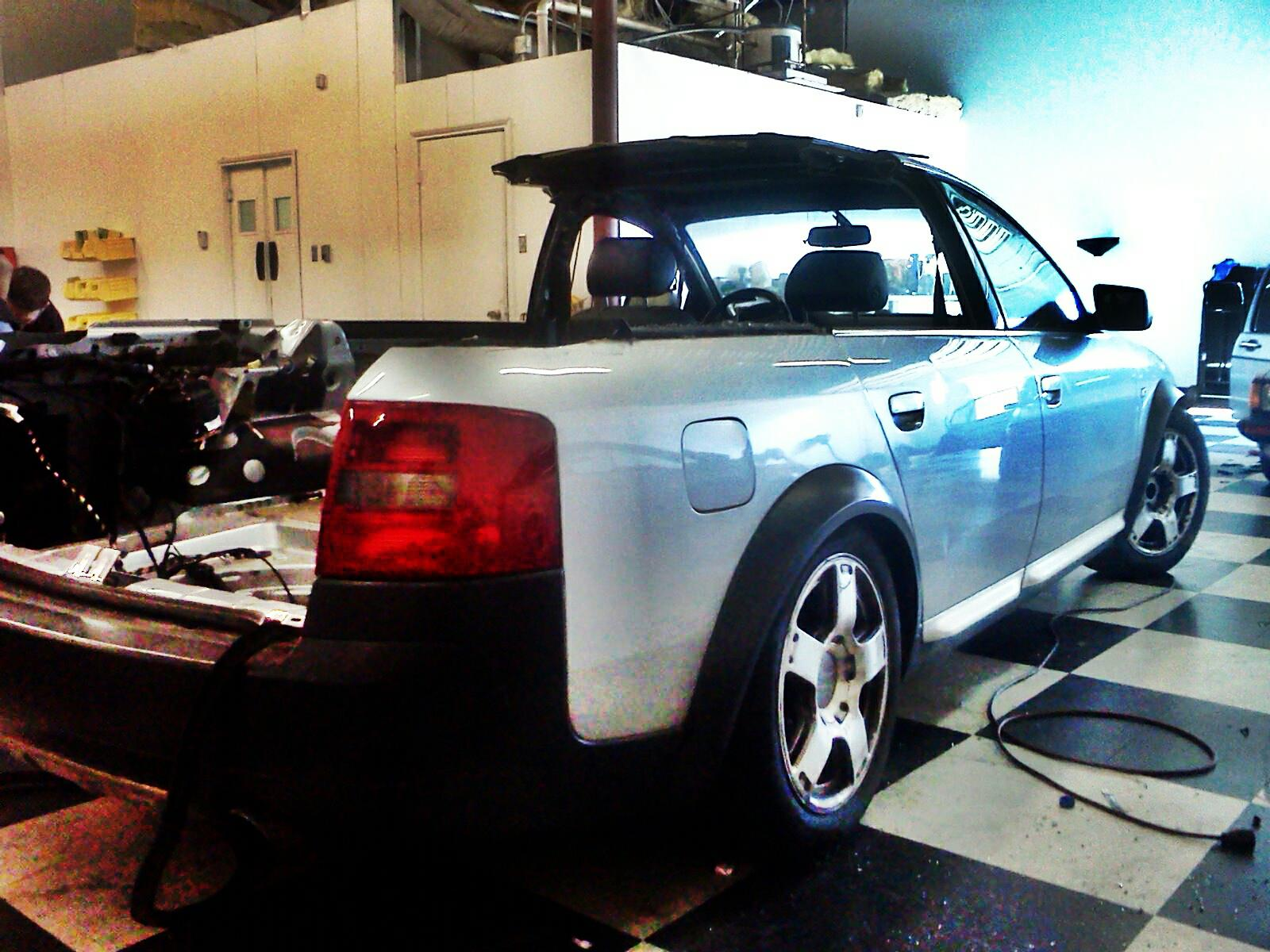 Steve Zink S Audi A6 Allroad Pickup Project Phase 1
