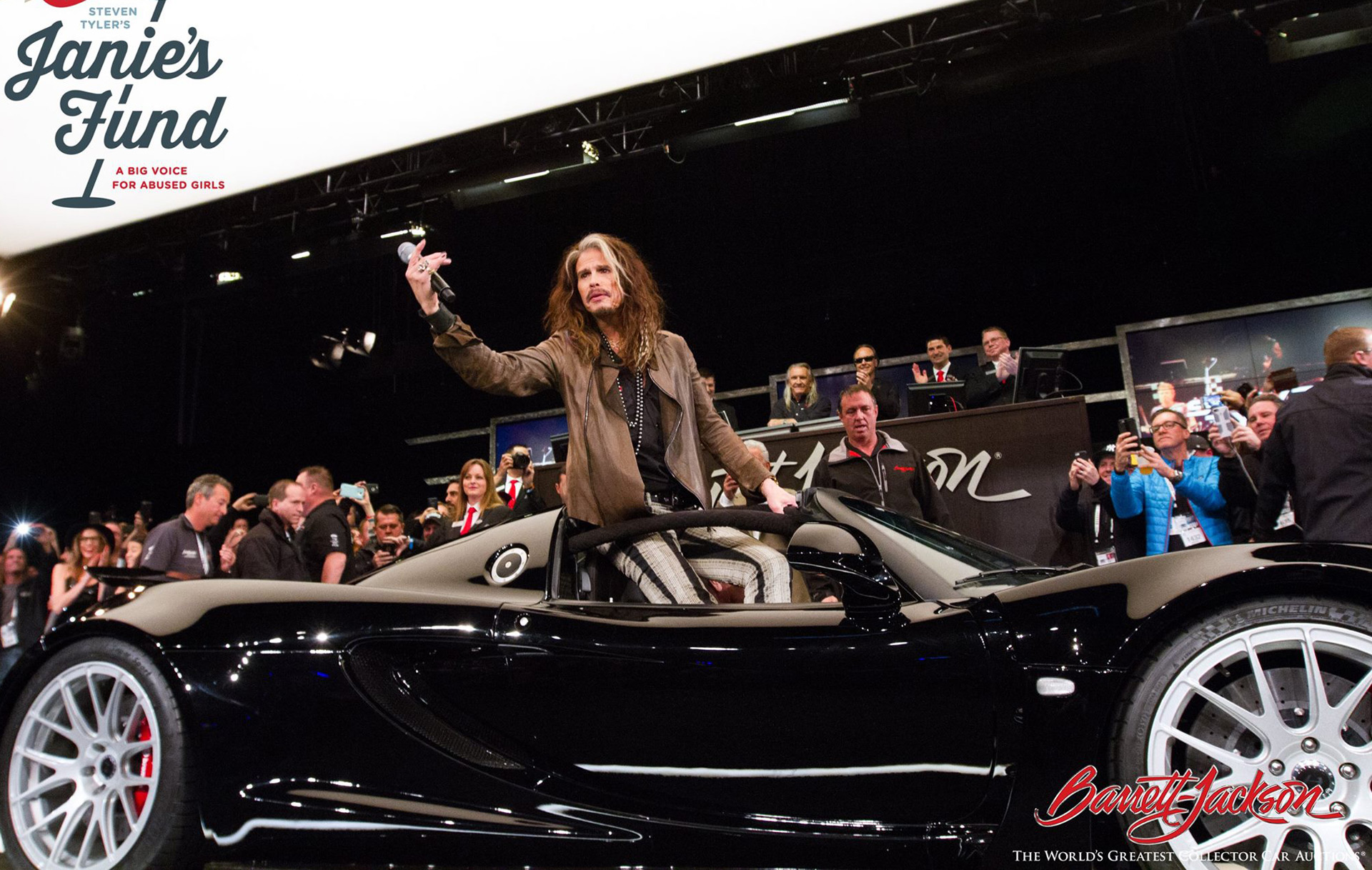 steven tyler s hennessey venom gt spyder raises 800k for charity. Black Bedroom Furniture Sets. Home Design Ideas
