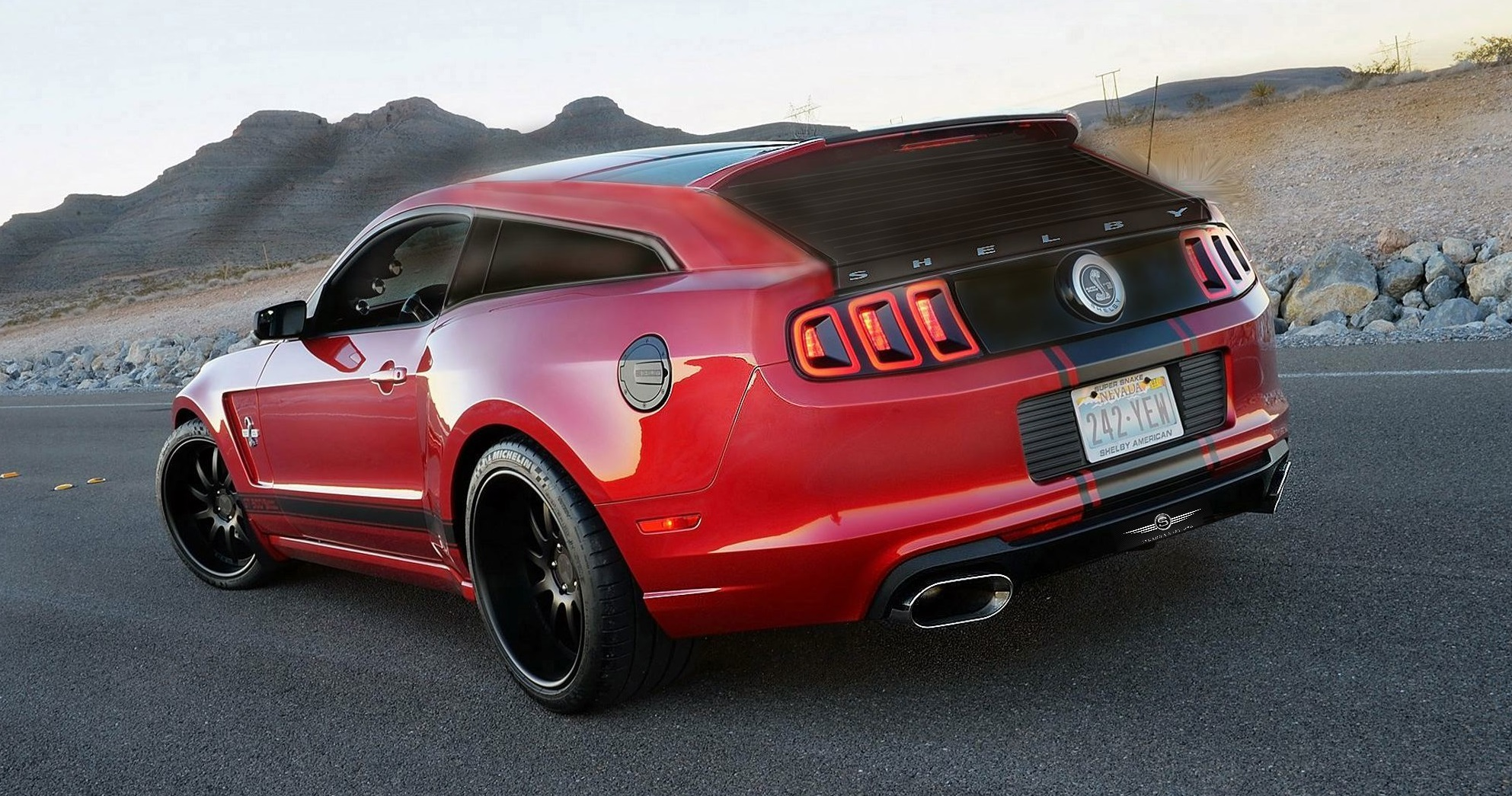 Mustang Shelby GT500 Shooting Brake Is Vaporware, But We Want It Anyway