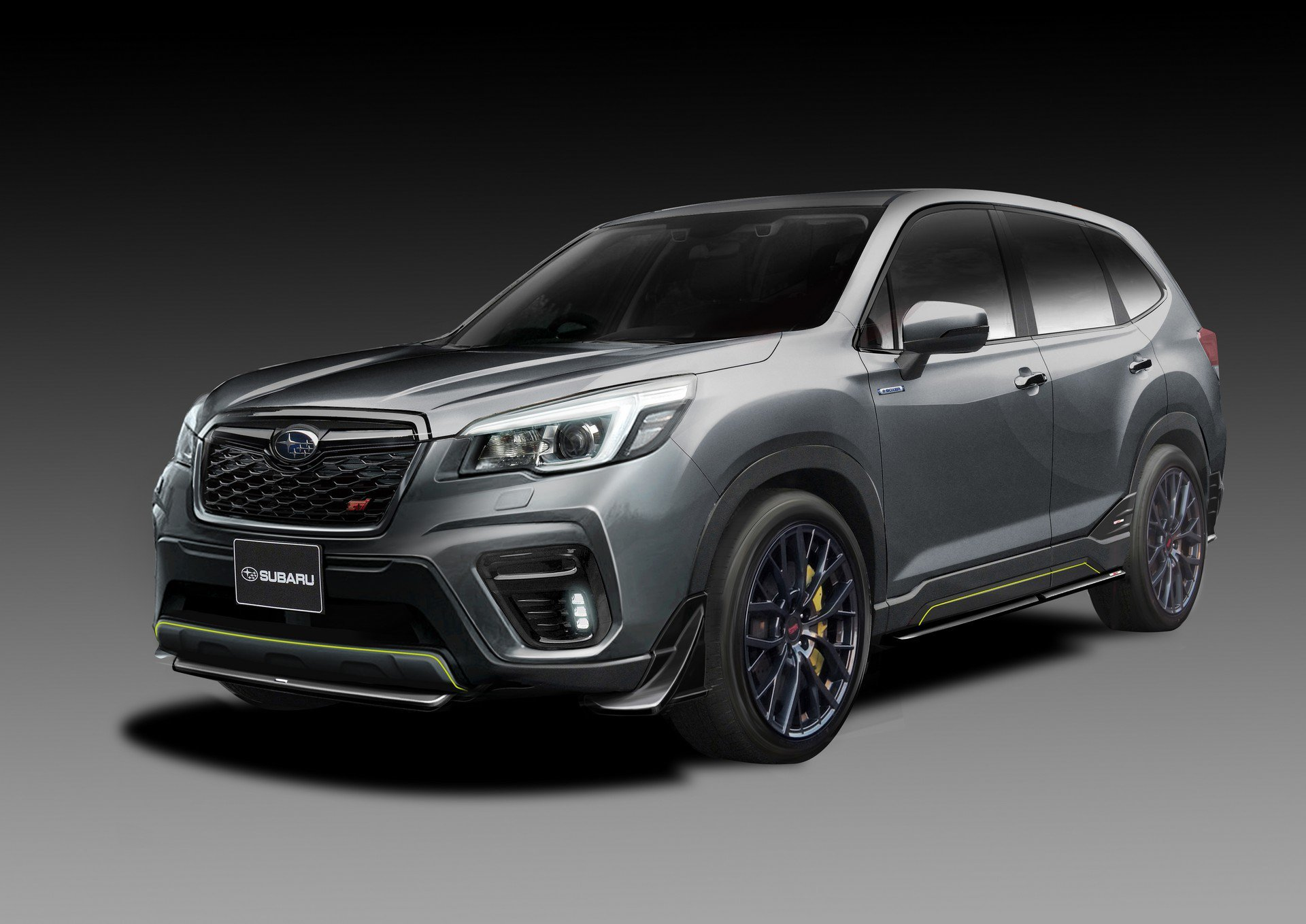 Subaru Forester Hybrid Teased In Japan In Sporty Sti Form