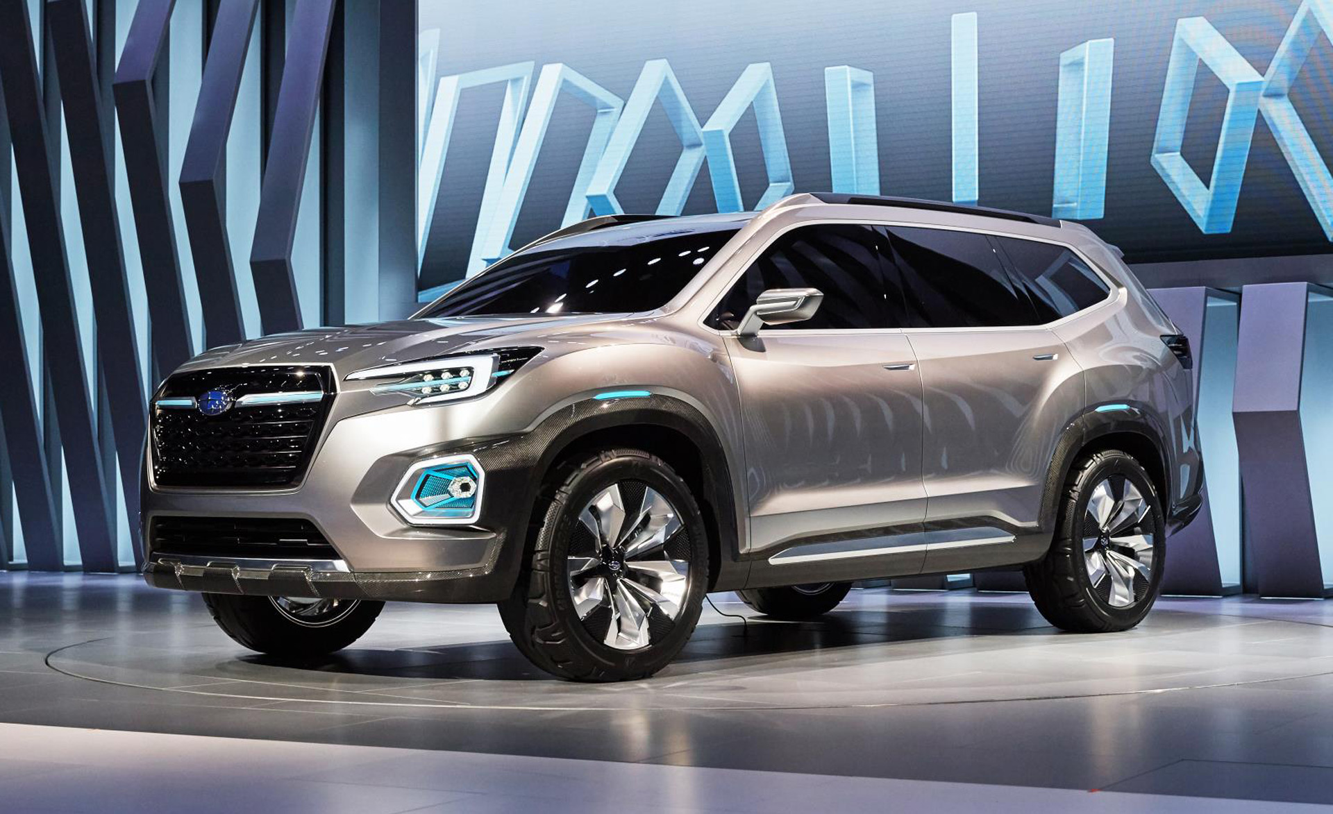 Subaru Viziv 7 Concept Previews 3 Row Suv Coming In 2018