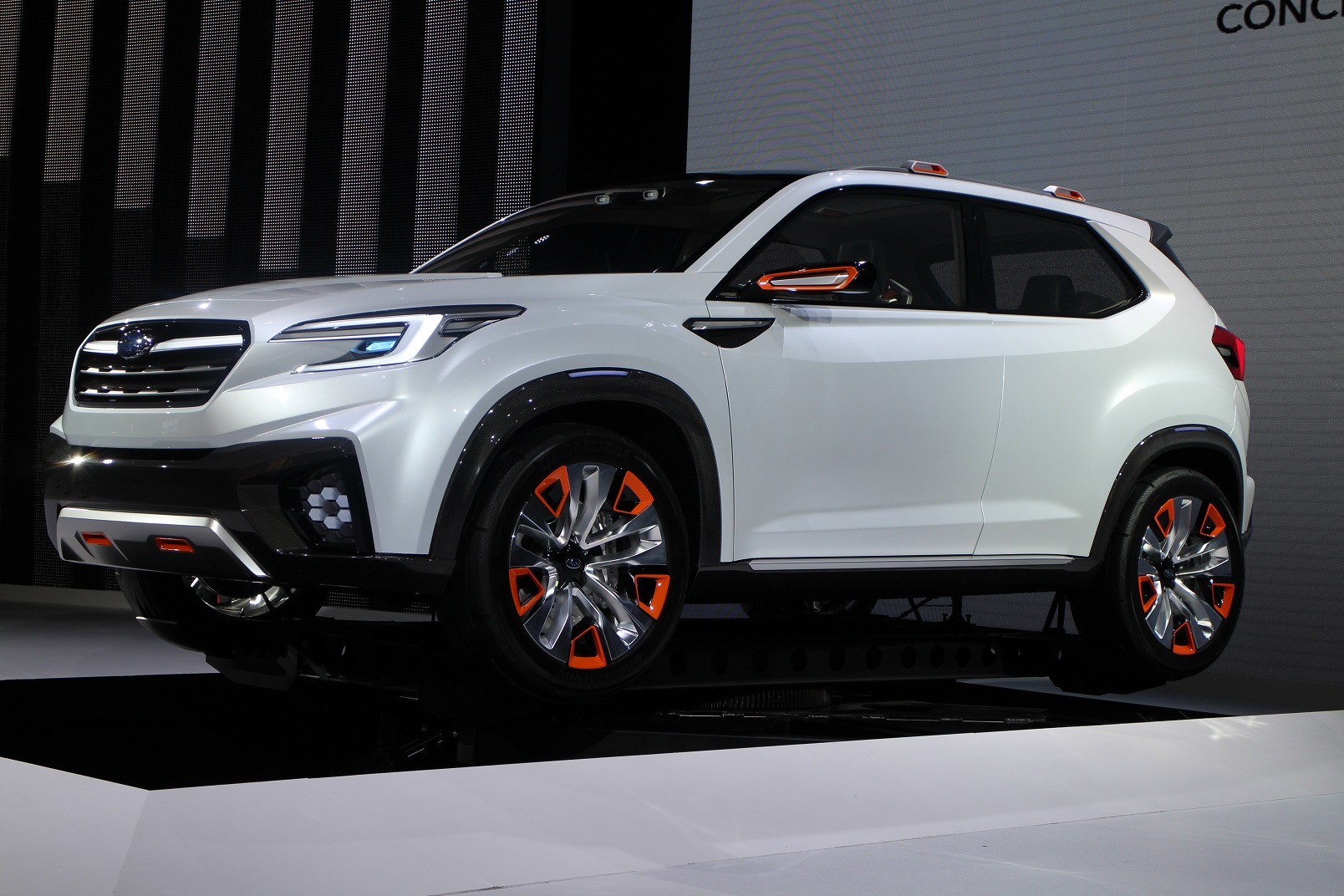 Subaru Viziv Future Concept Previews Next Gen Xv Crosstrek Tech