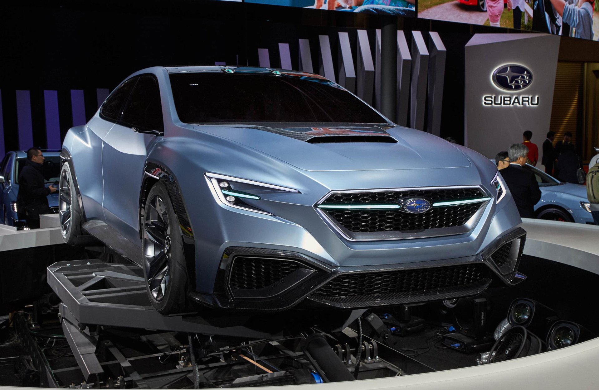 Subaru hints at next-gen WRX with Viziv Performance concept