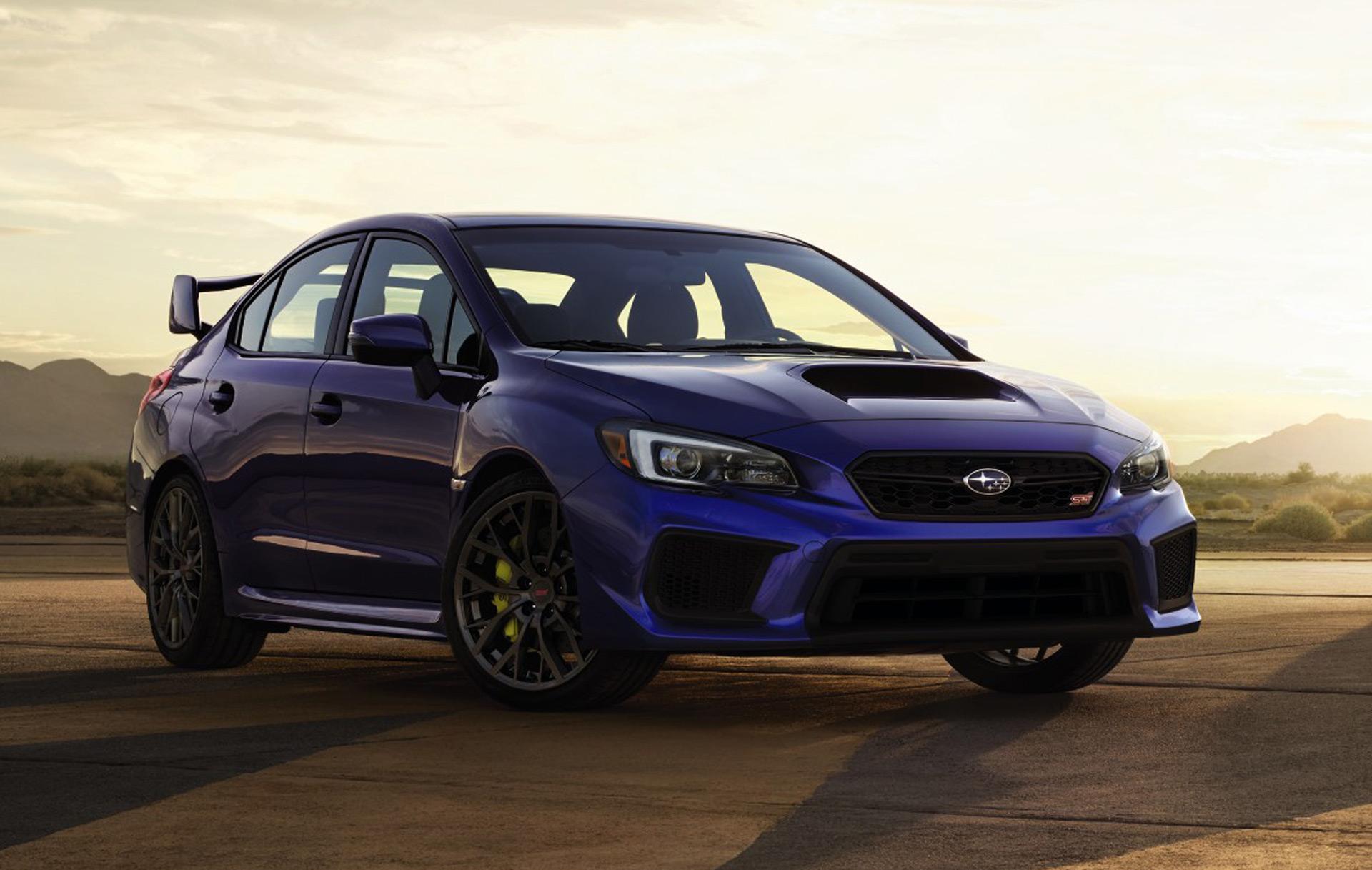 New 2018 Subaru WRX and WRX STI mild updates still missing