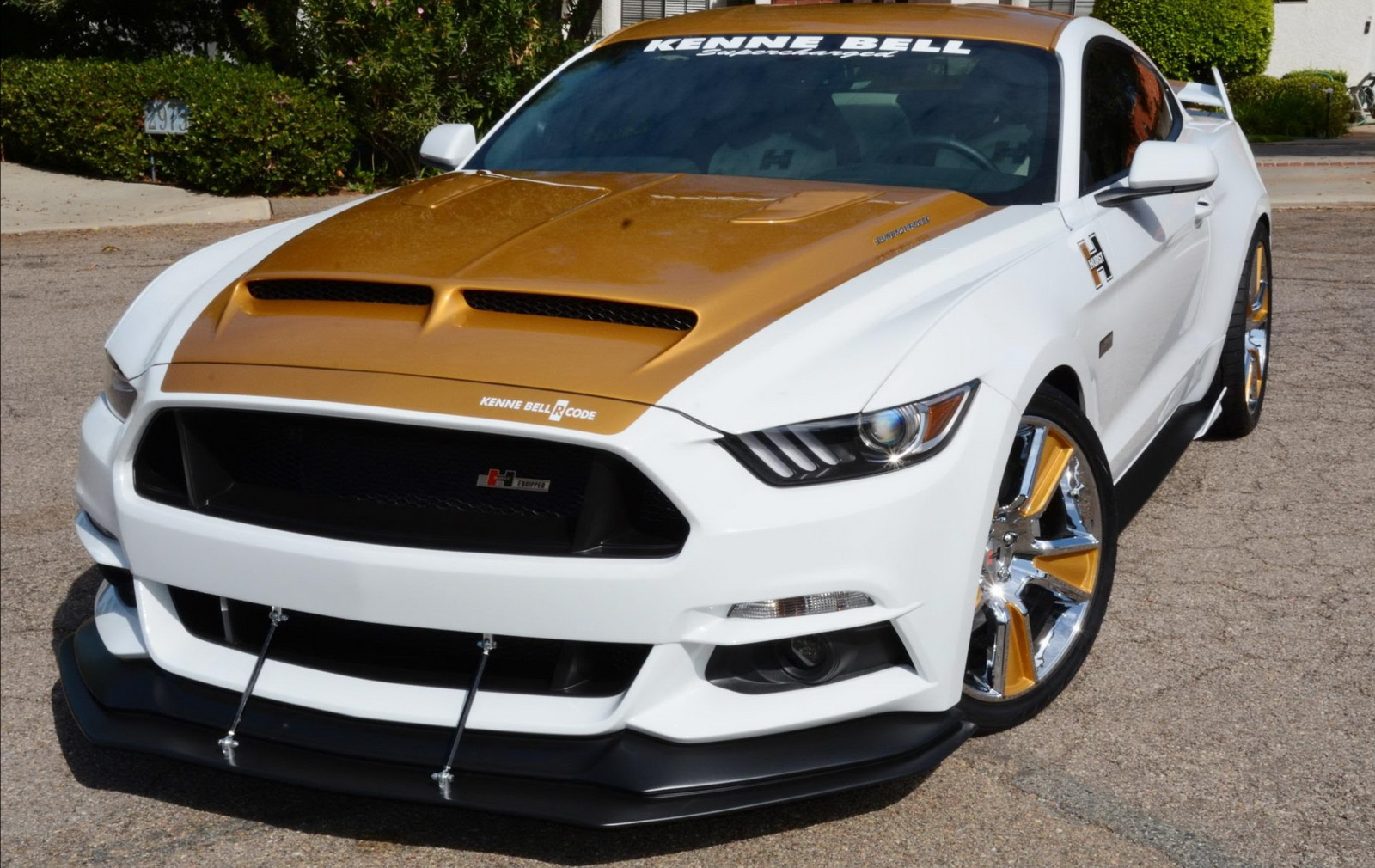 Hurst And Kenne Bell Team Up For 750 Hp Sema Mustang