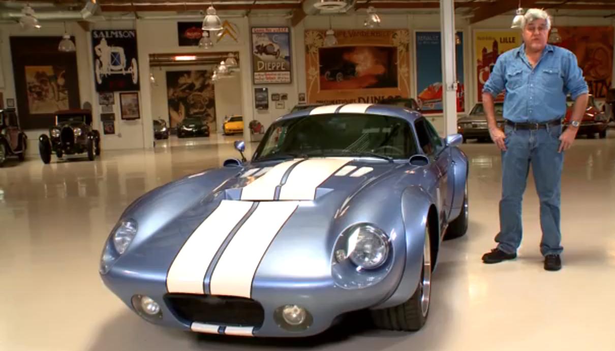 Shelby Brock Daytona Coupe Races Into Jay Leno's Garage: Video