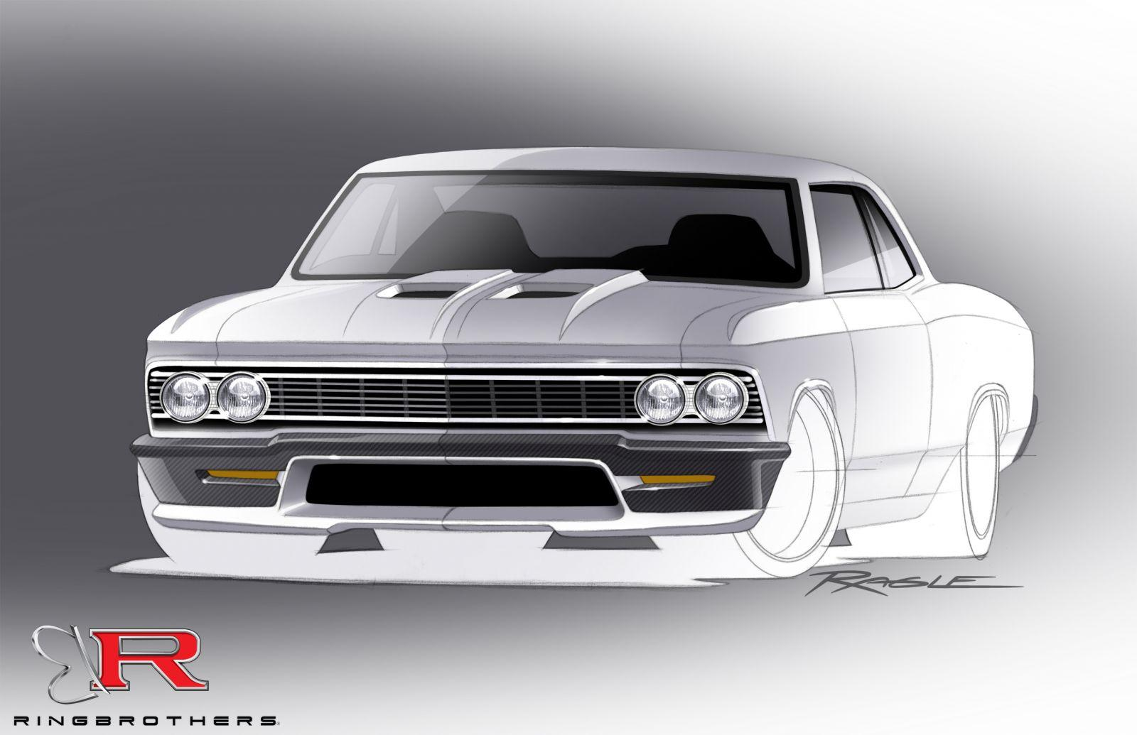 Ring Brothers Bringing 980 Horsepower Chevy Chevelle To Sema