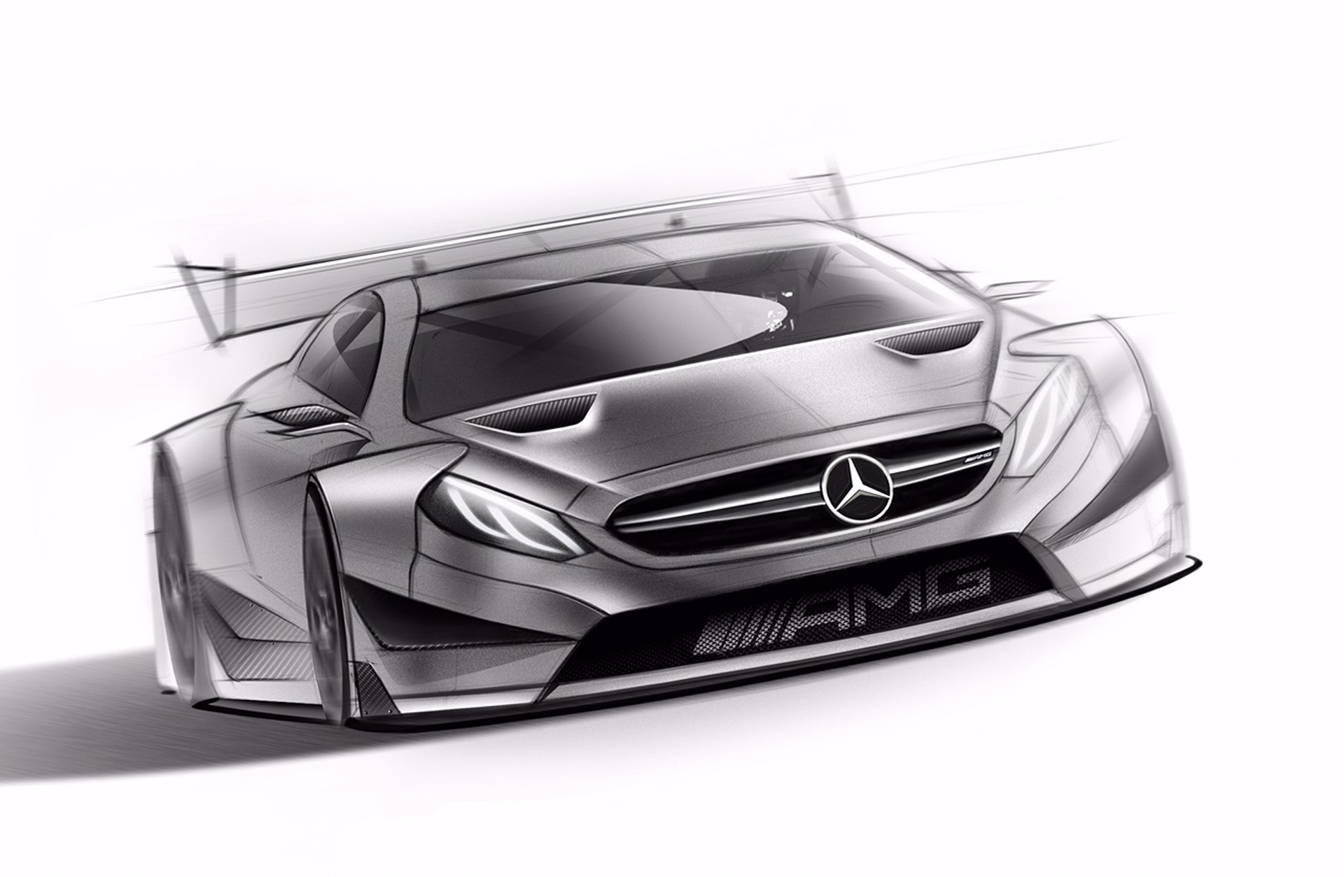 Mercedes-AMG Teases 2016 DTM Racer Based On New C63 Coupe