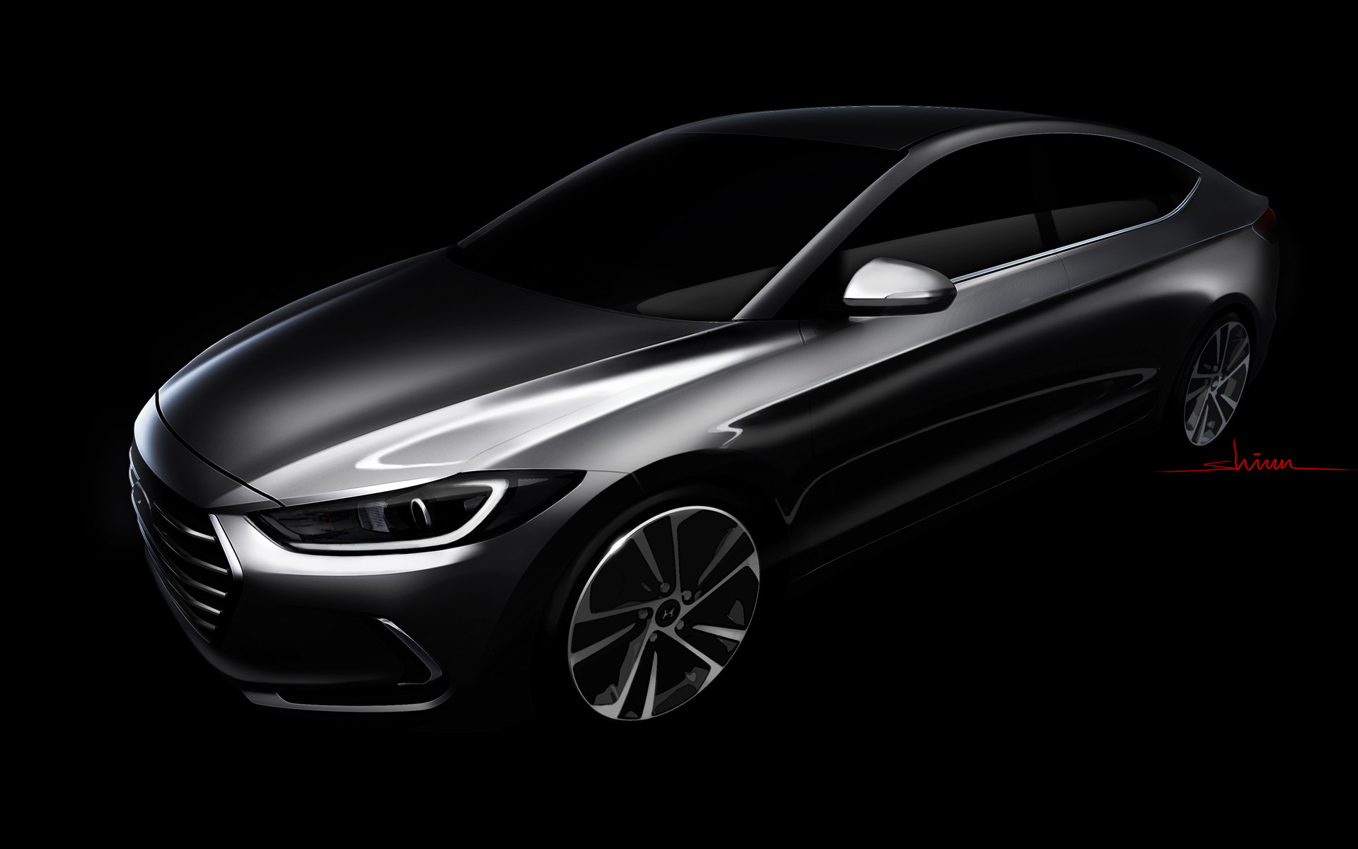 hyundai elantra sedan coming