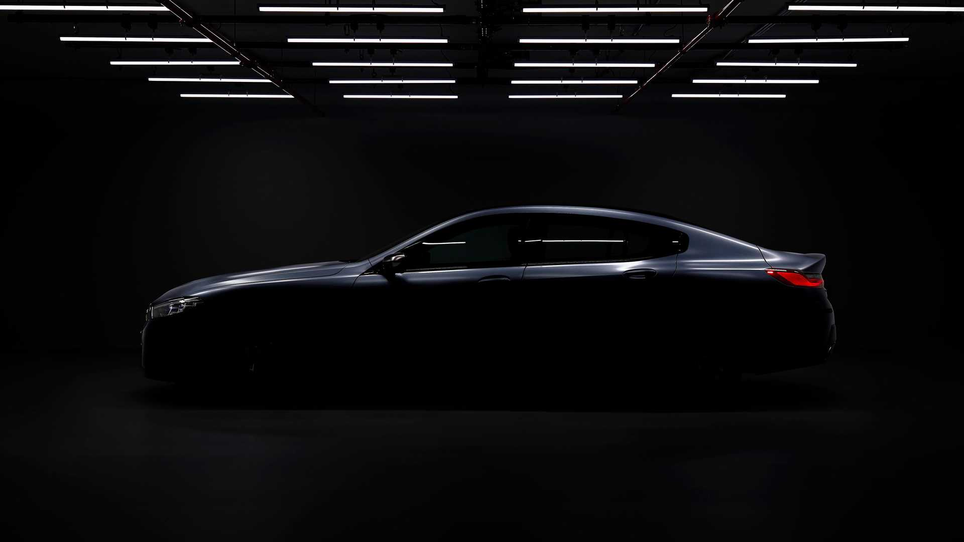 2020 Bmw 8 Series Gran Coupe Teased Ahead Of June Reveal