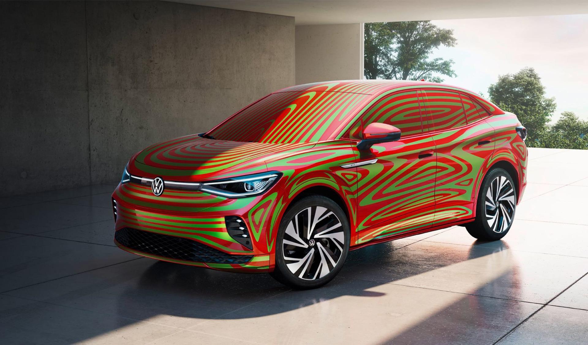 Avance del Volkswagen ID.5 GTX 2022