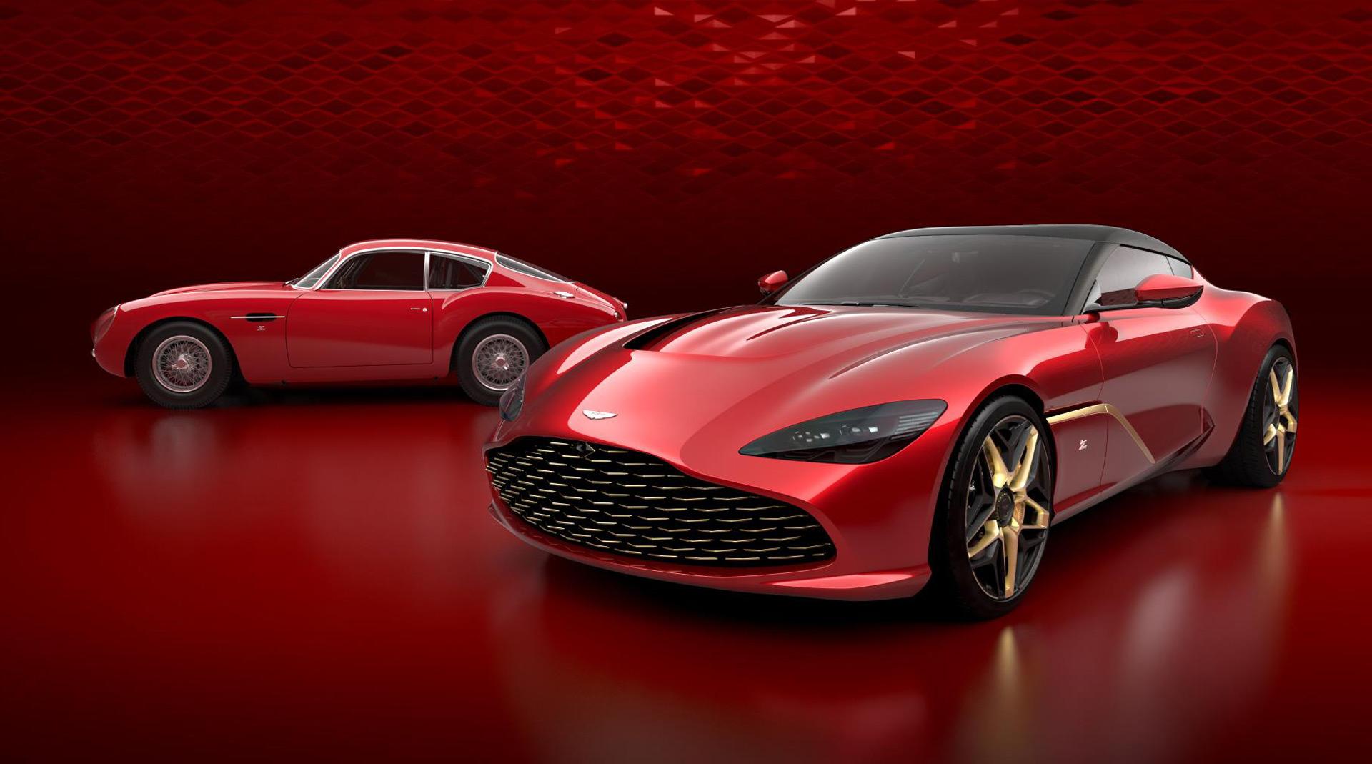 Aston Martin previews ...