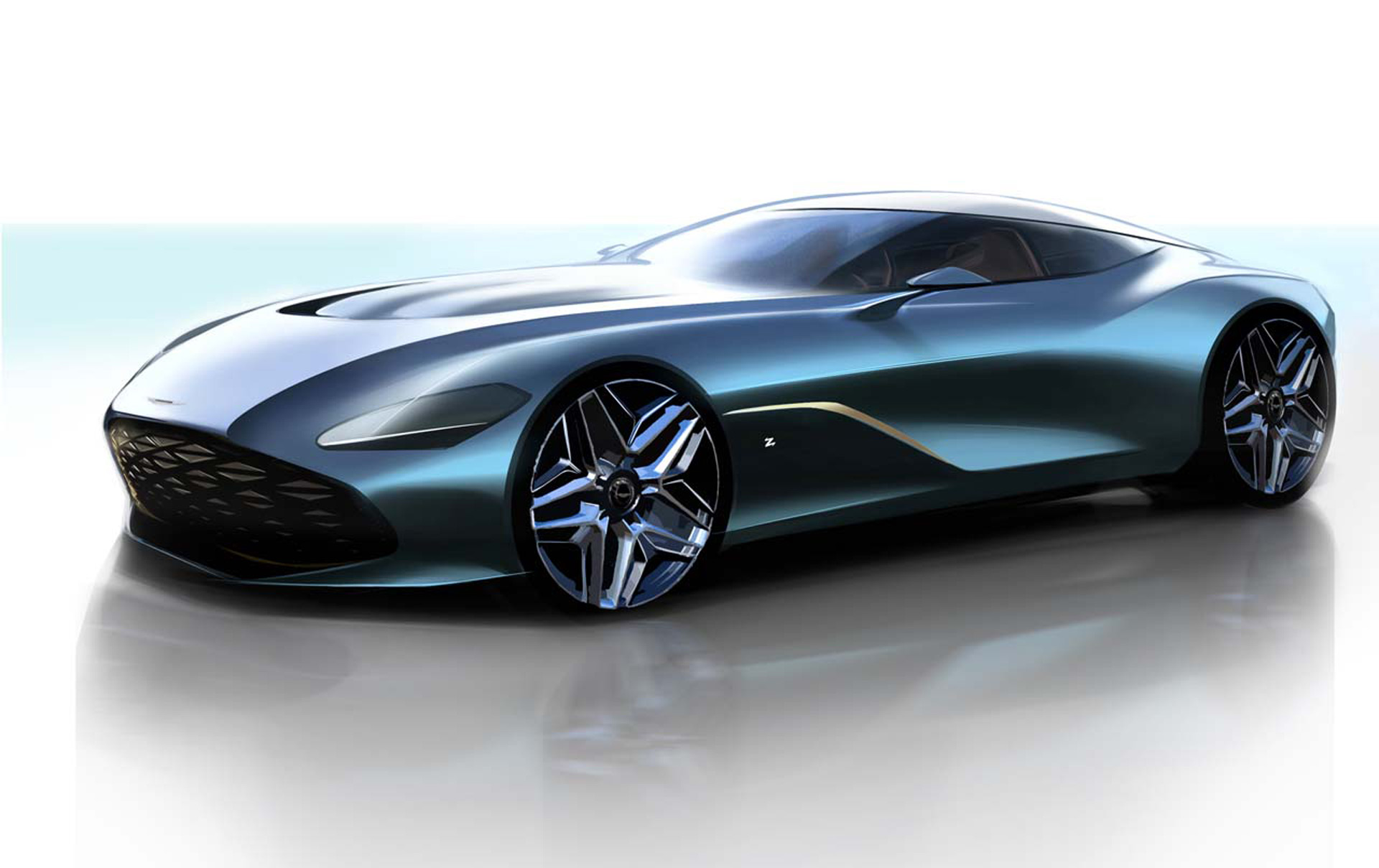 Aston Martin Previews Dbs Gt Zagato Will Sell It With Db4