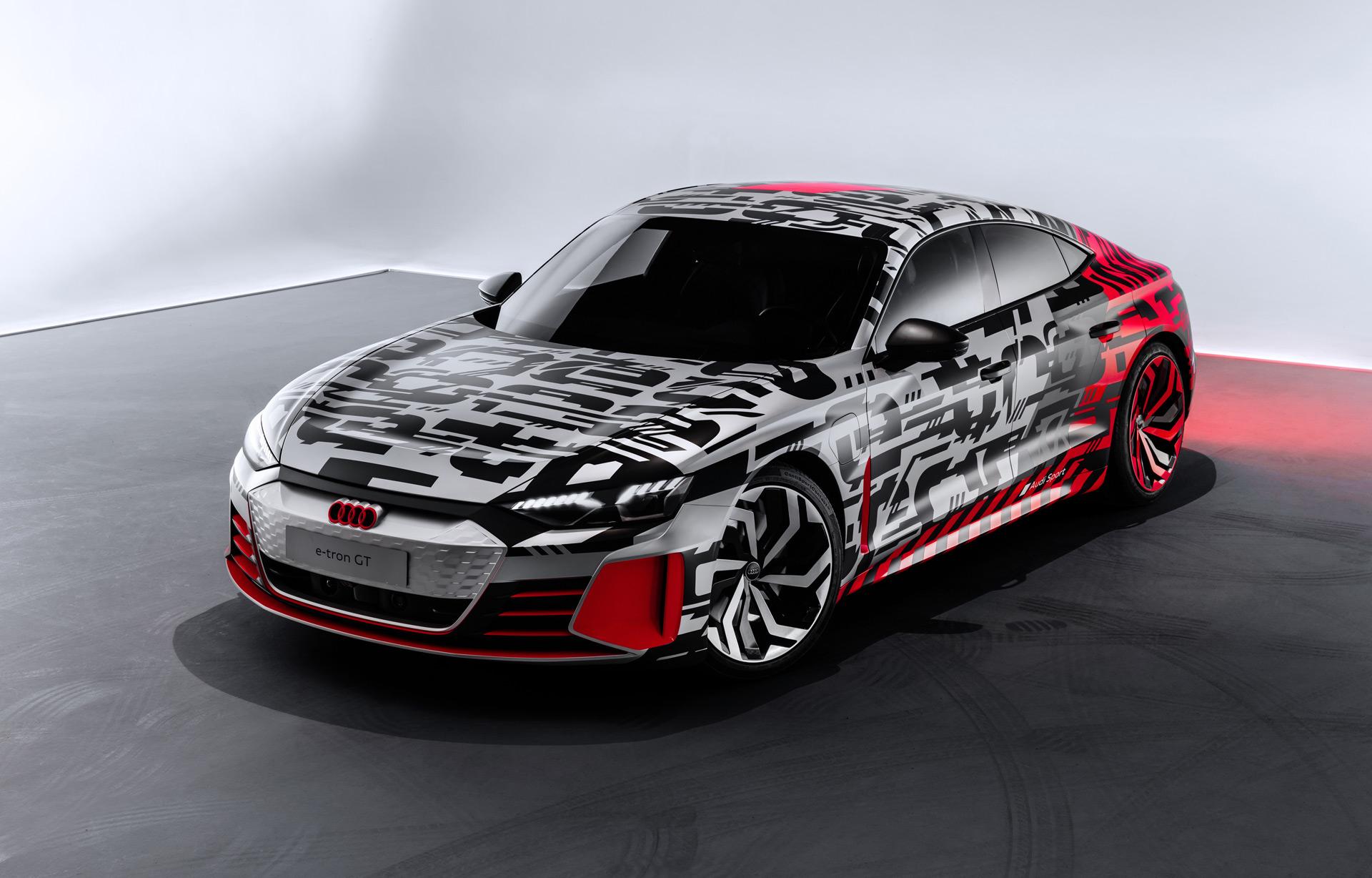 Audi E Tron Gt Concept Set For 2018 La Auto Show