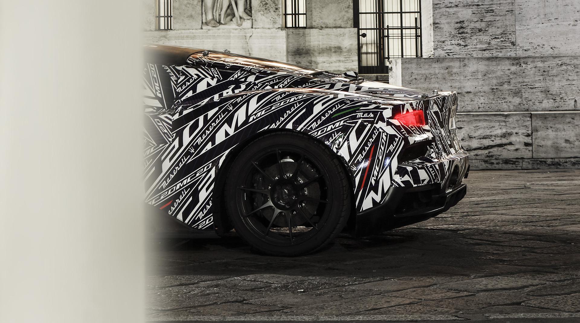 Reveal of Maserati MC20 supercar delayed due to coronavirus