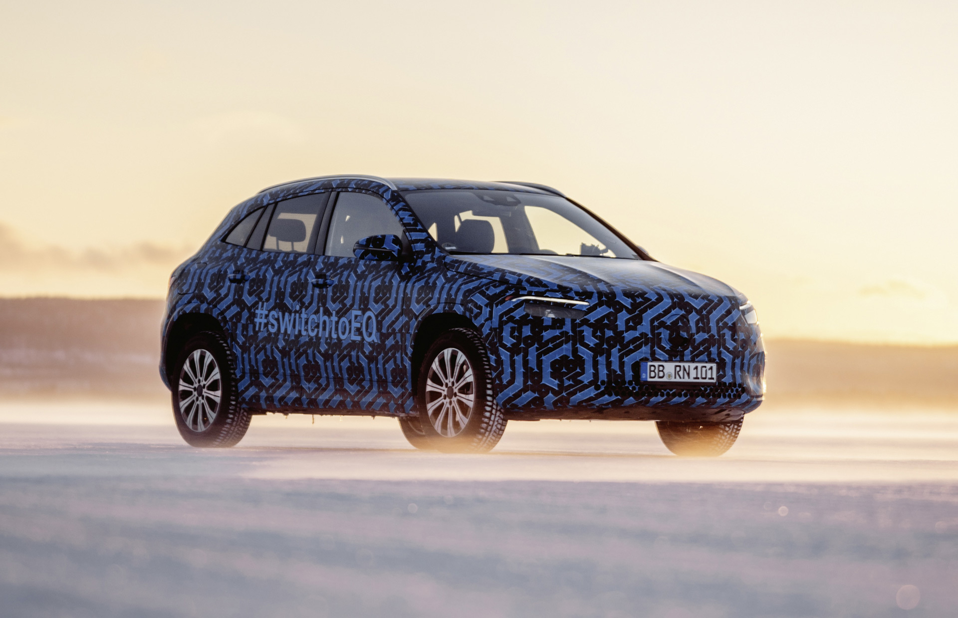 Mercedes Benz Eqa Electric Suv Teased Ahead Of 2020 Debut