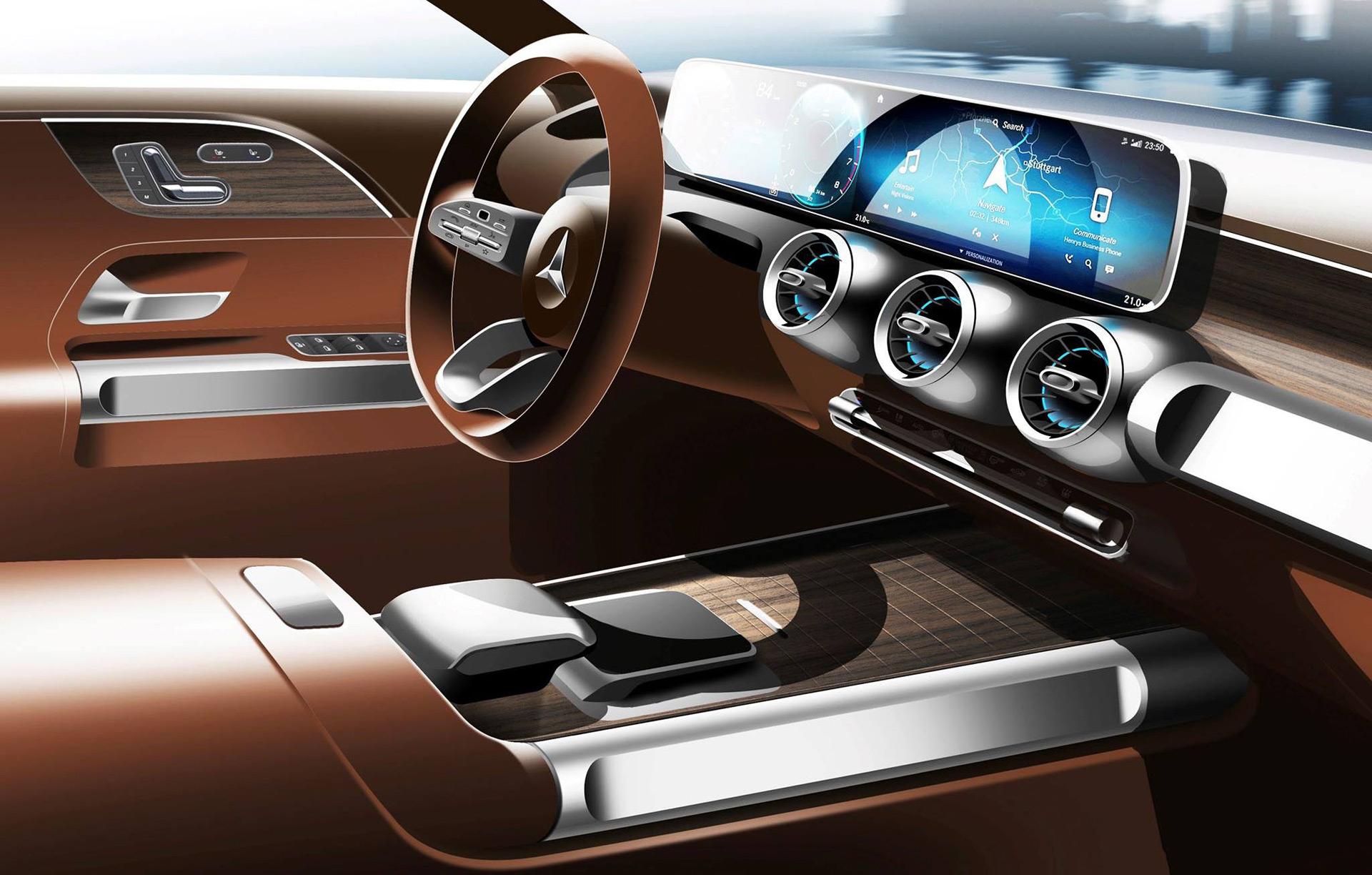 Mercedes GLB concept confirmed for 2019 Shanghai auto show