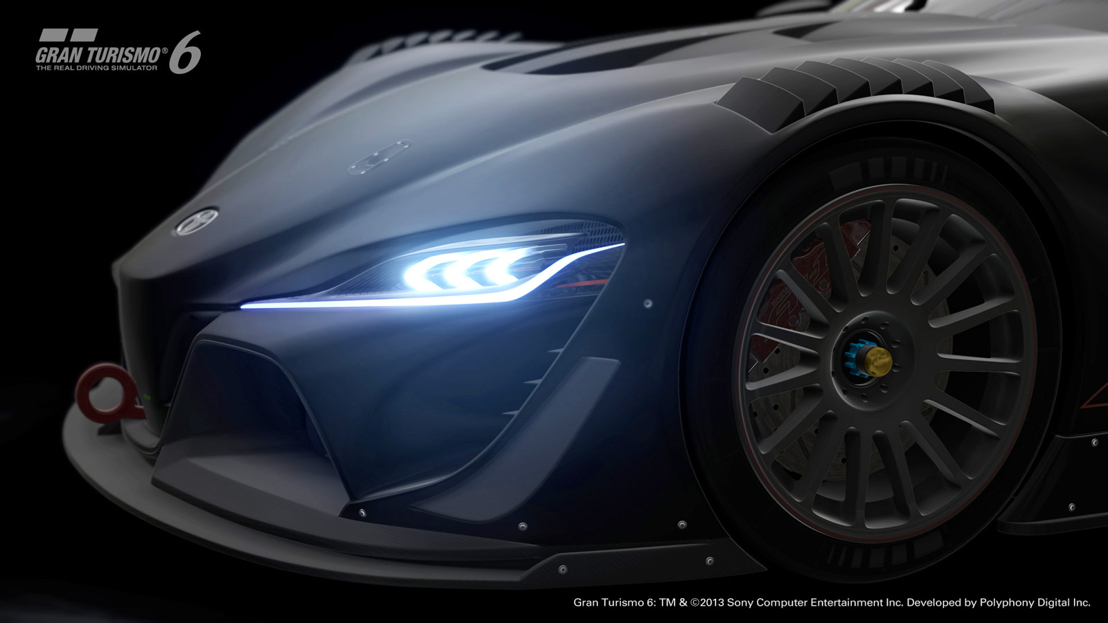 Toyota Takes Supra-Previewing FT-1 Concept To The (Virtual) Track With Gran Turismo