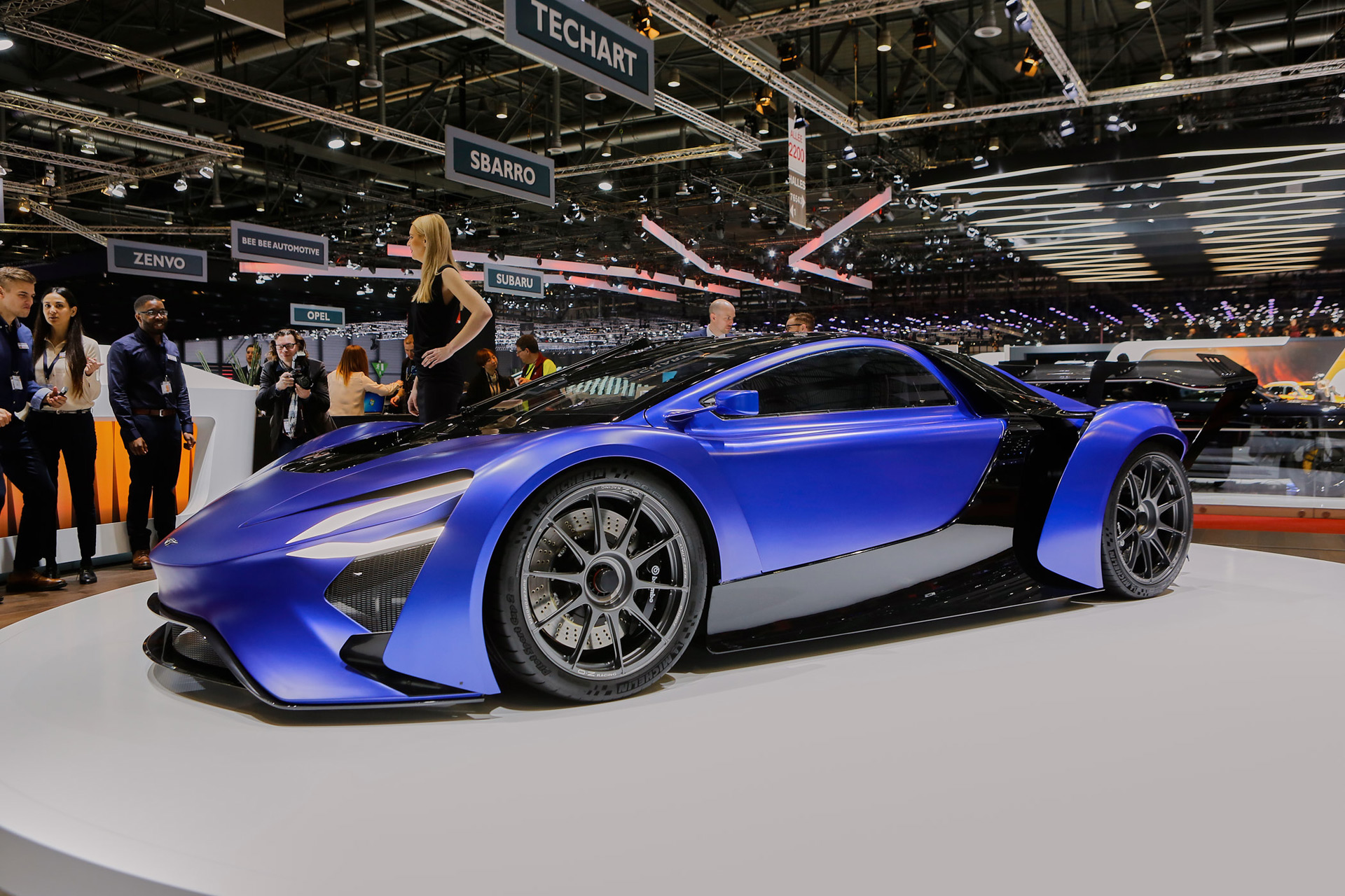 Supercars Stampede Toward Hybrids Electric Power Geneva Roundup