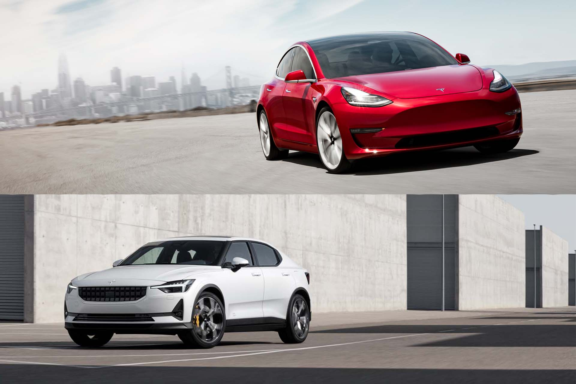 Cars Com Compare >> Tesla Model 3 Vs Polestar 2 How The Two Electric Cars Compare