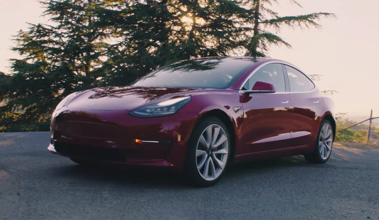 Tesla Model 3 Awd >> Elon Musk Announces Tesla Model 3 Awd Performance Model 3 Specs