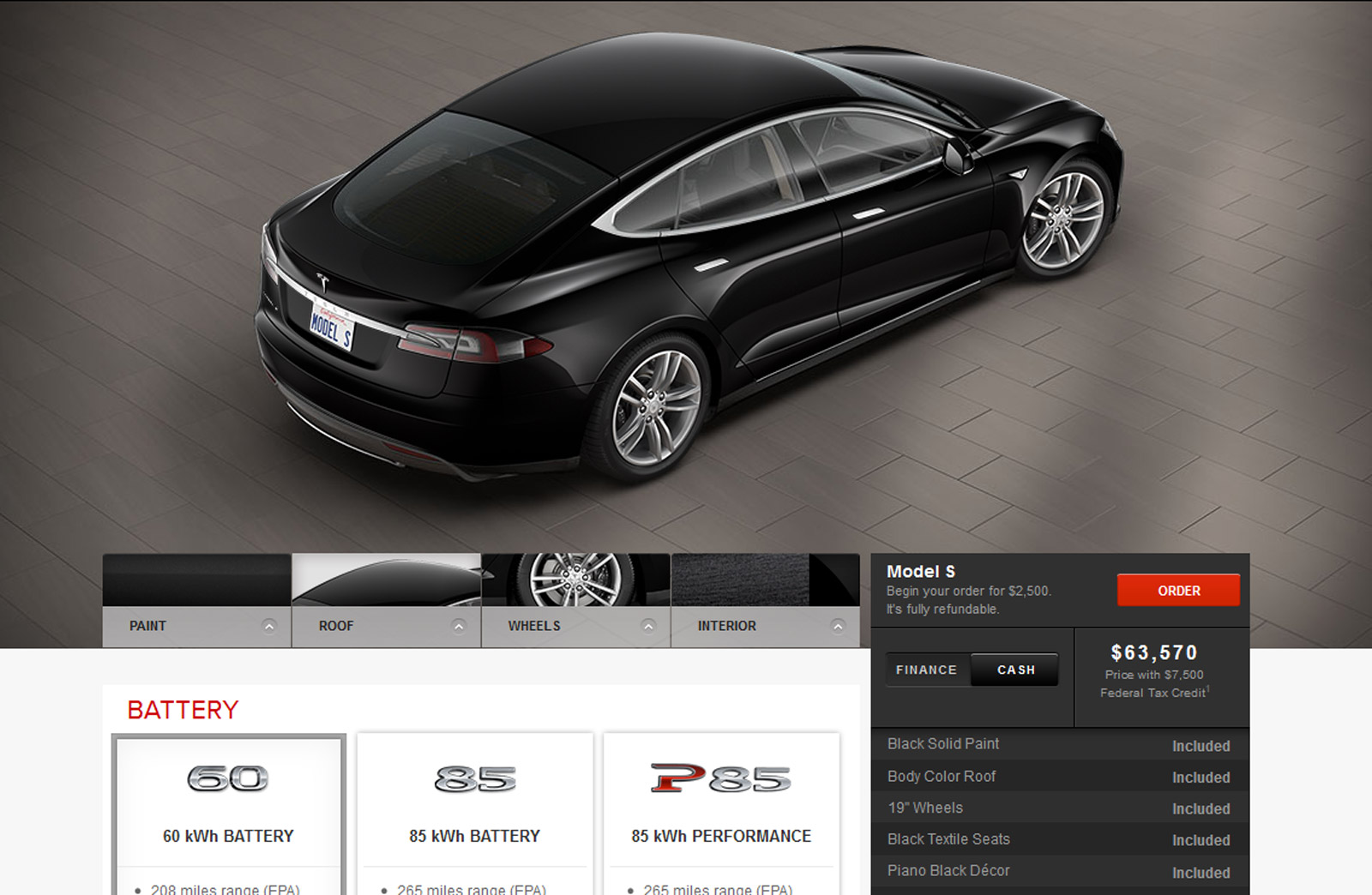 Tesla Ups Prices On Some 2013 Model S Options