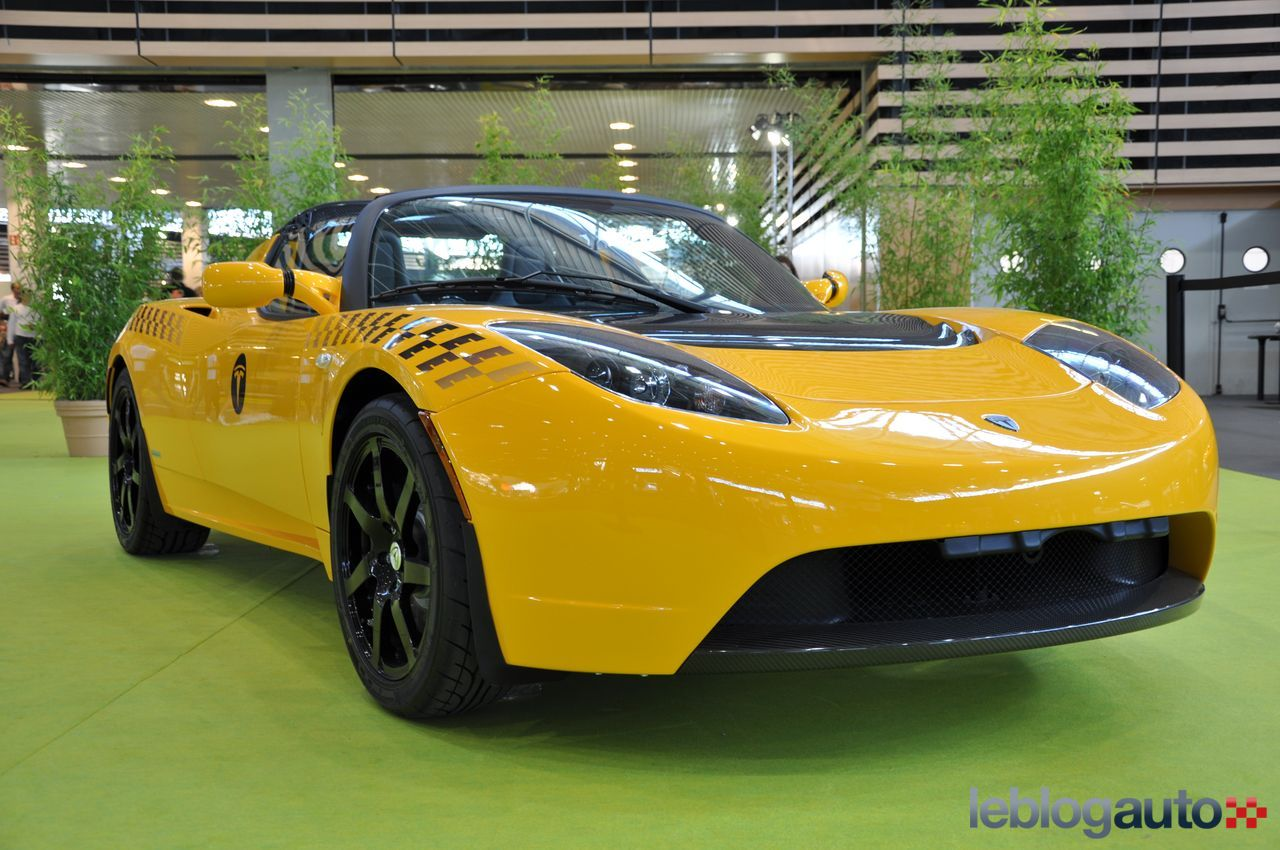 tesla taxi hybrid cab owner customizes electric roadster