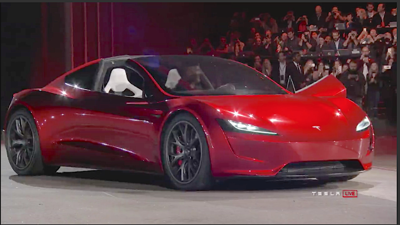 Tesla Investor Provides A Look Inside New Roadster