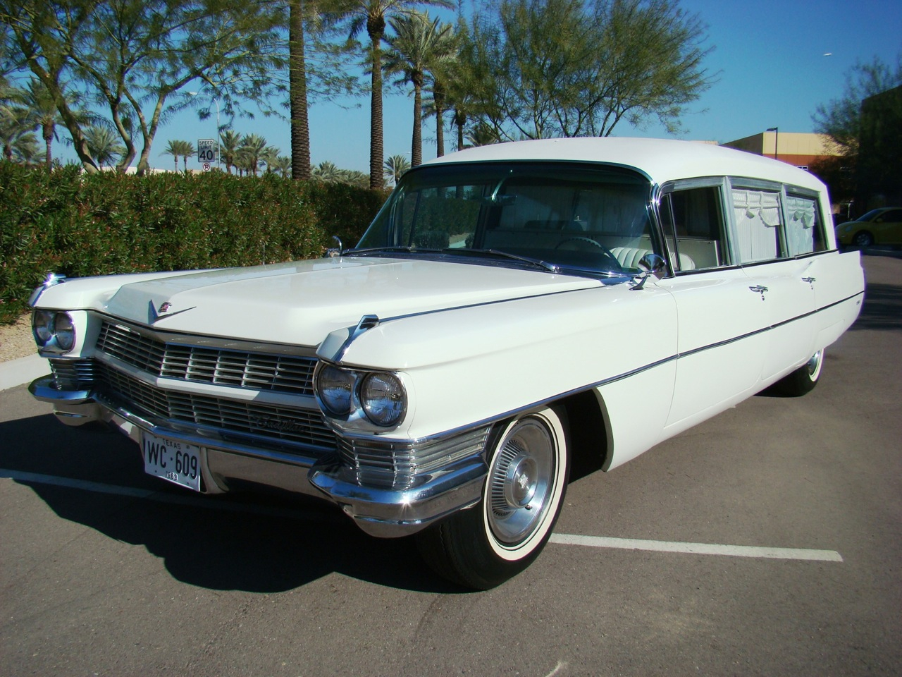 post sale image cadillac for hearse