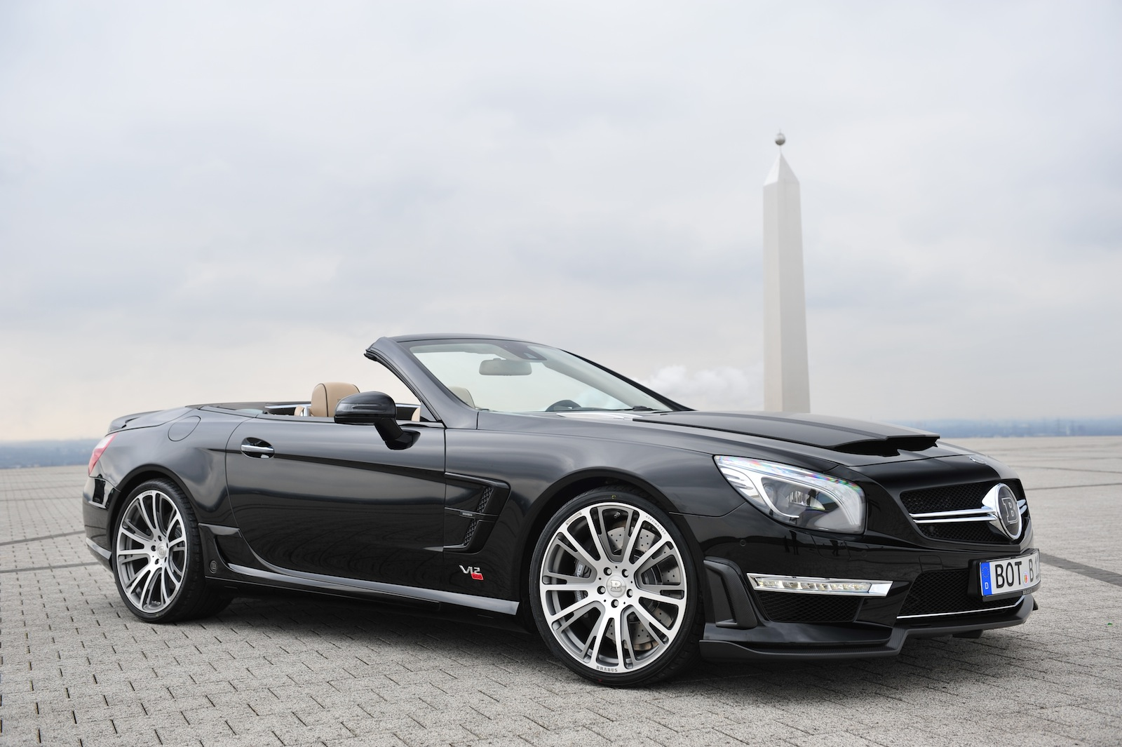 SL65 AMG-Based Brabus 800 Roadster To Debut In Geneva